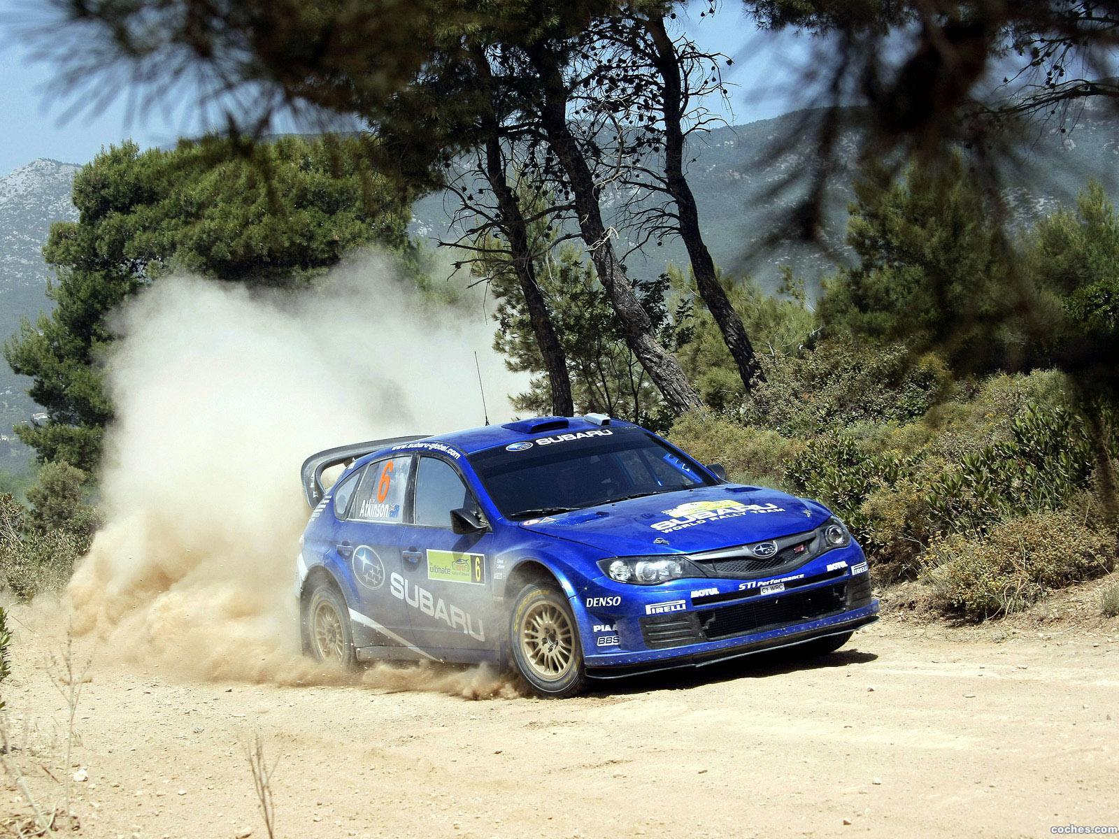 Foto 22 de Subaru Impreza WRC 2008