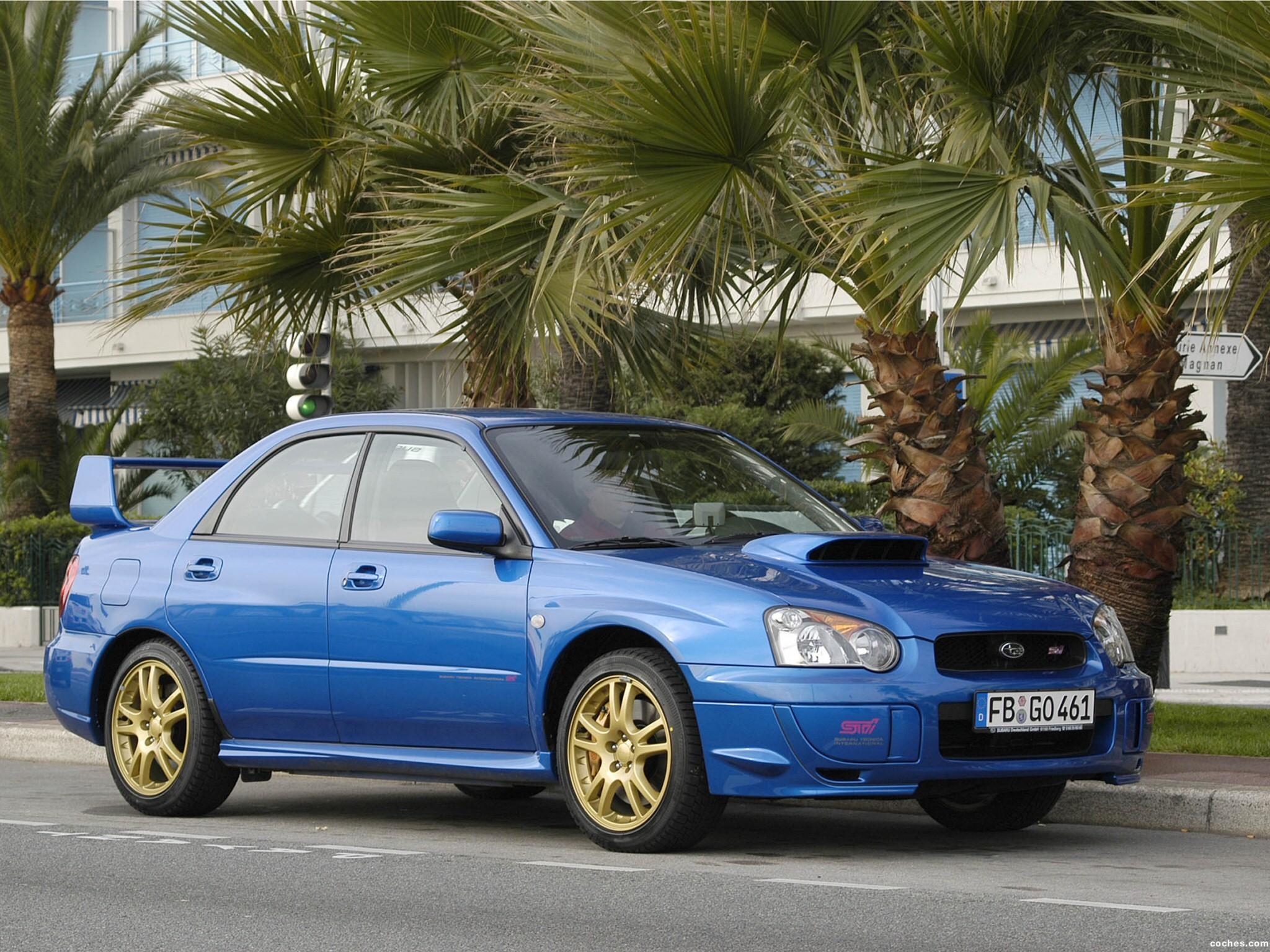Foto 0 de Subaru Impreza WRX STi 2003