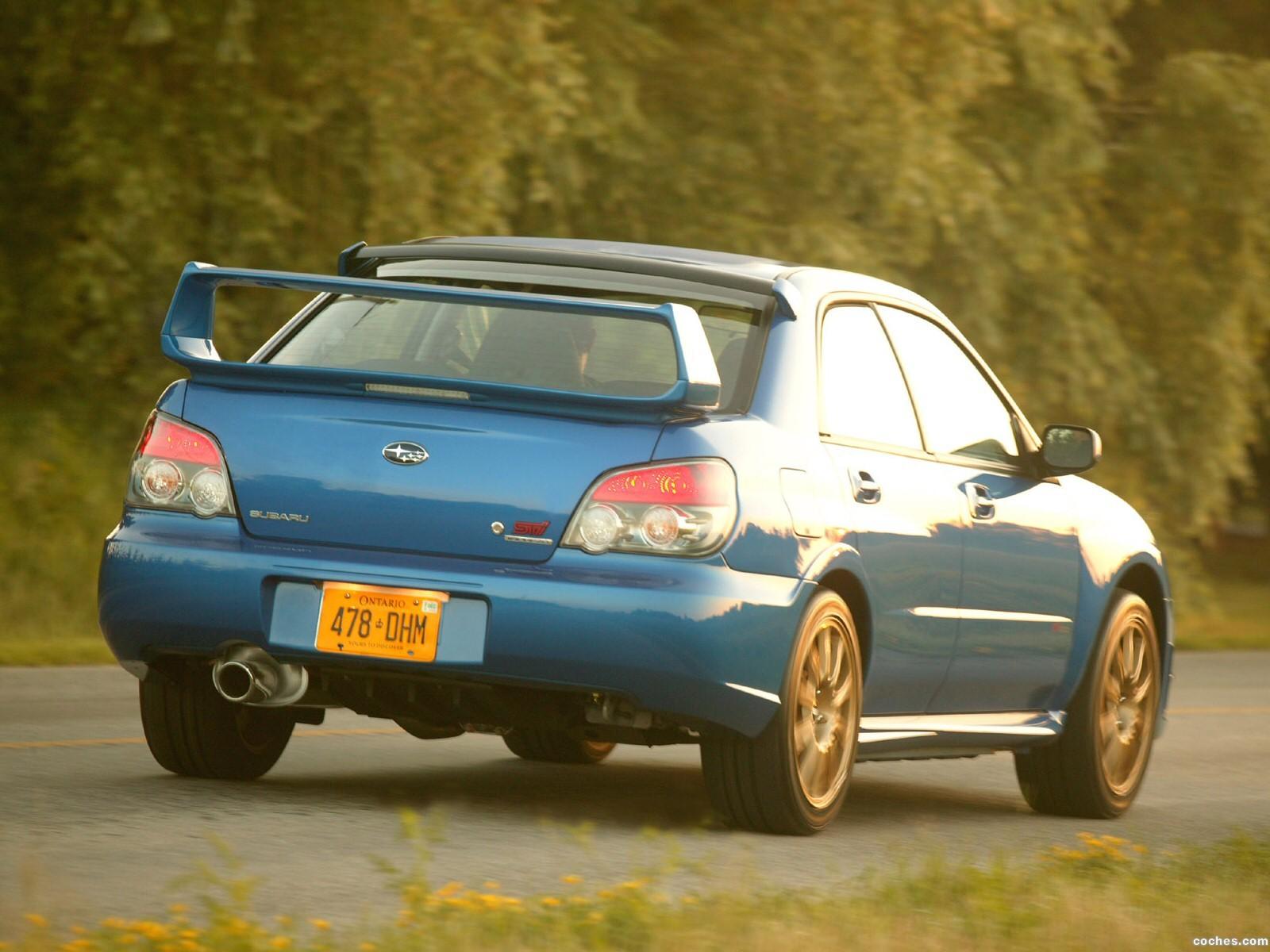Foto 12 de Subaru Impreza WRX STi 2006