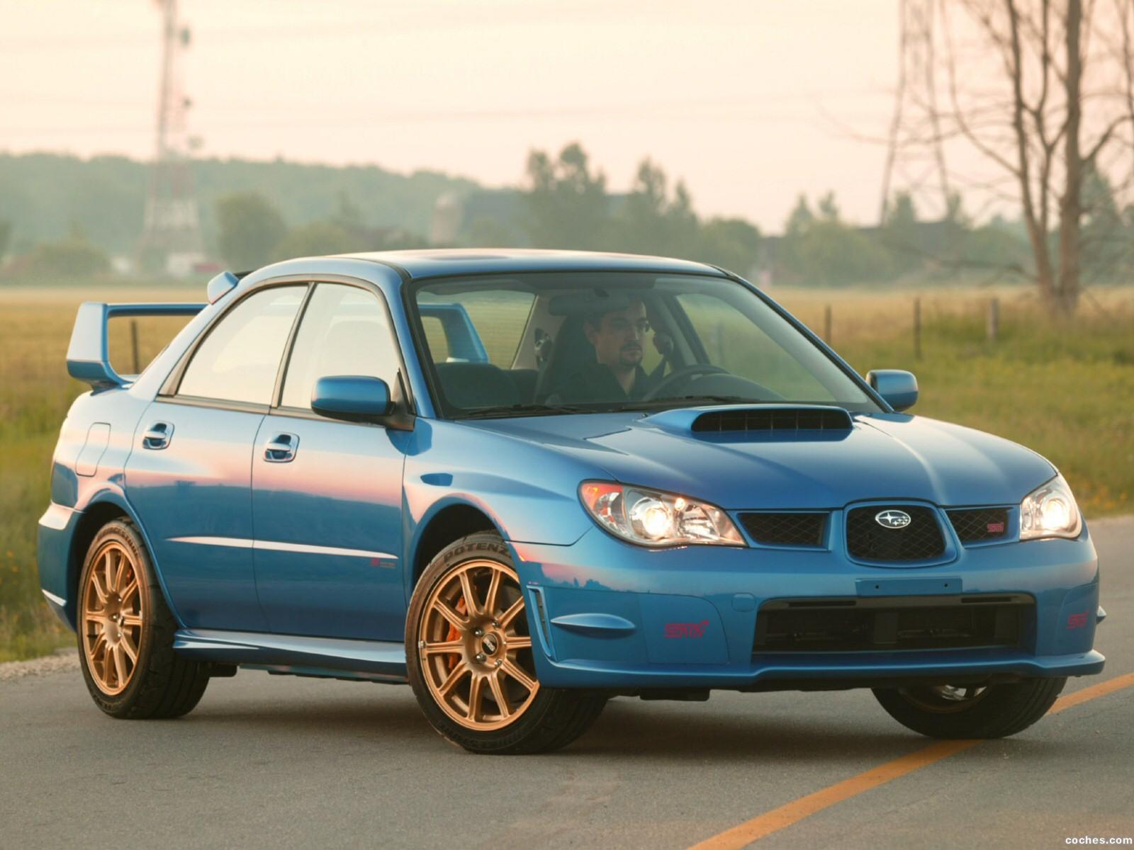 Foto 8 de Subaru Impreza WRX STi 2006