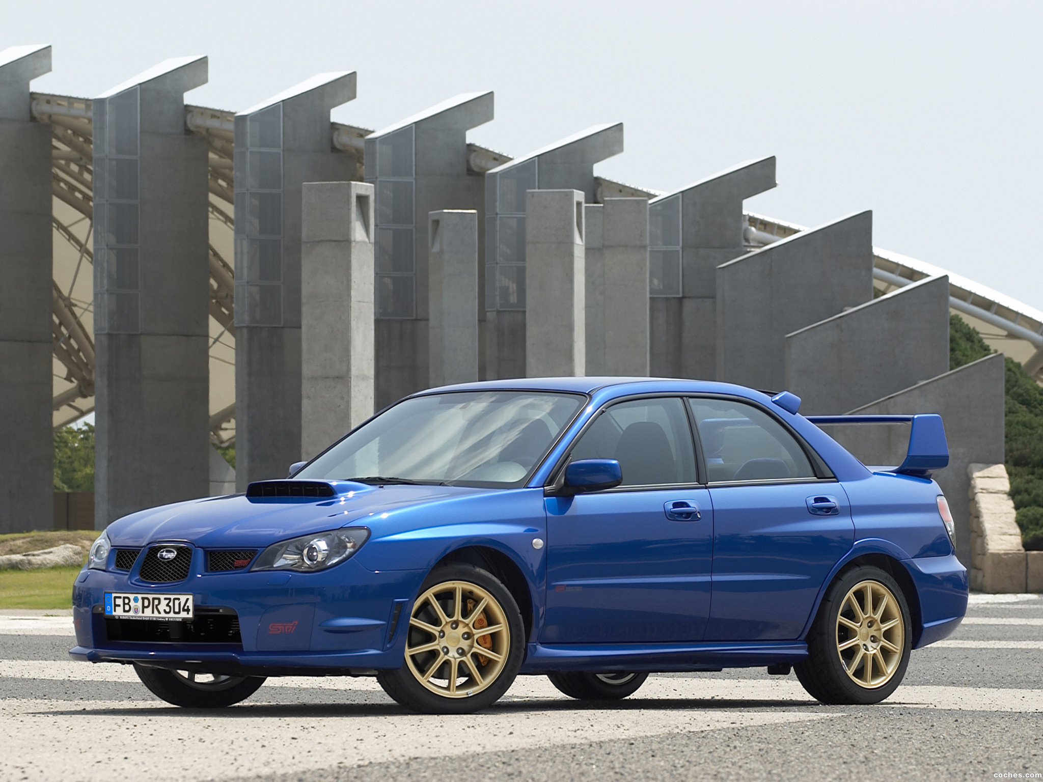 Foto 0 de Subaru Impreza WRX STi 2006
