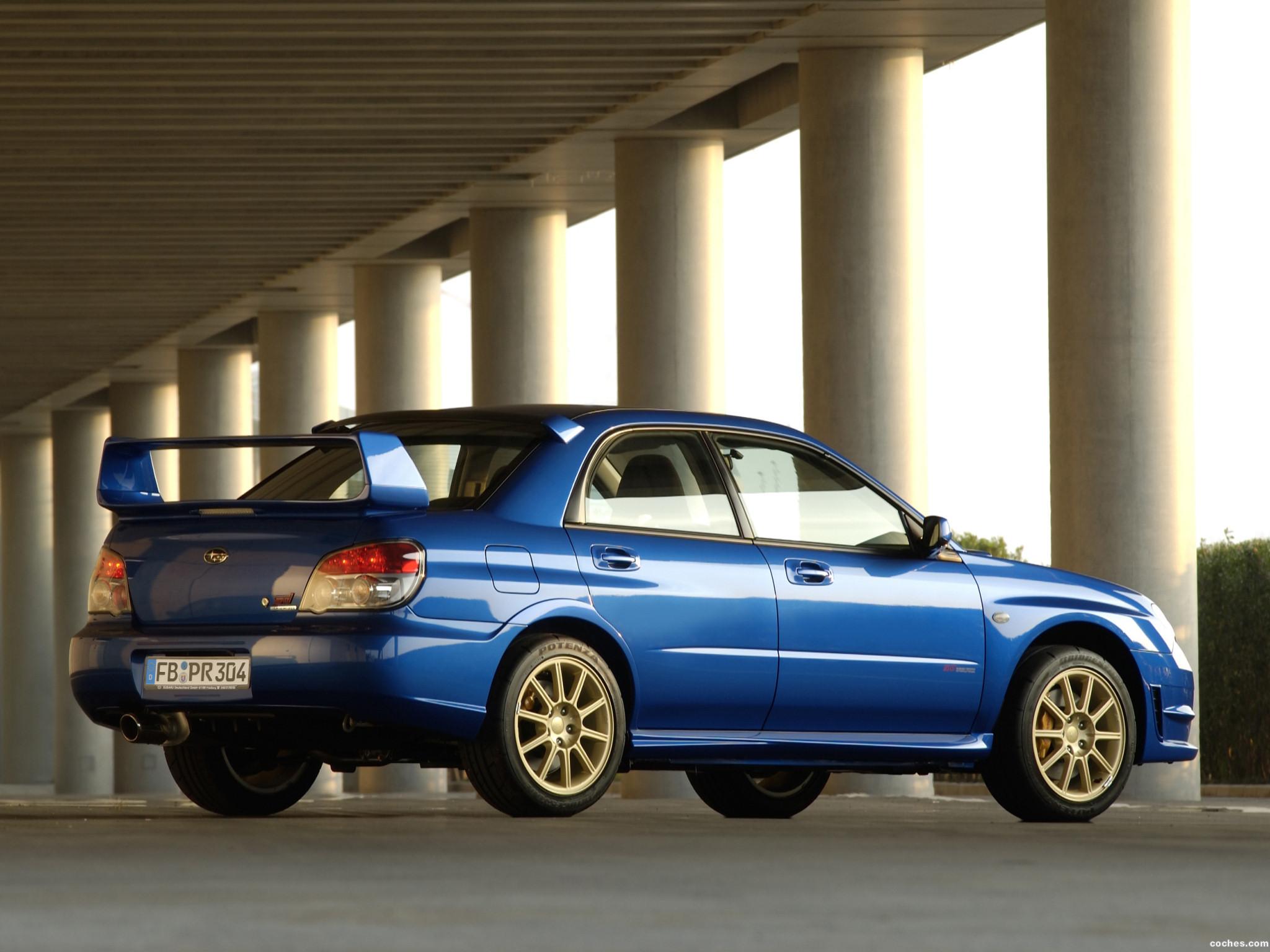 Foto 5 de Subaru Impreza WRX STi 2006
