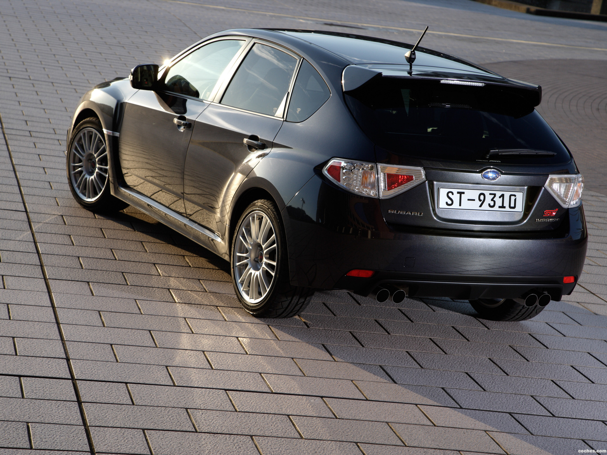 Foto 13 de Subaru Impreza WRX STi 2008