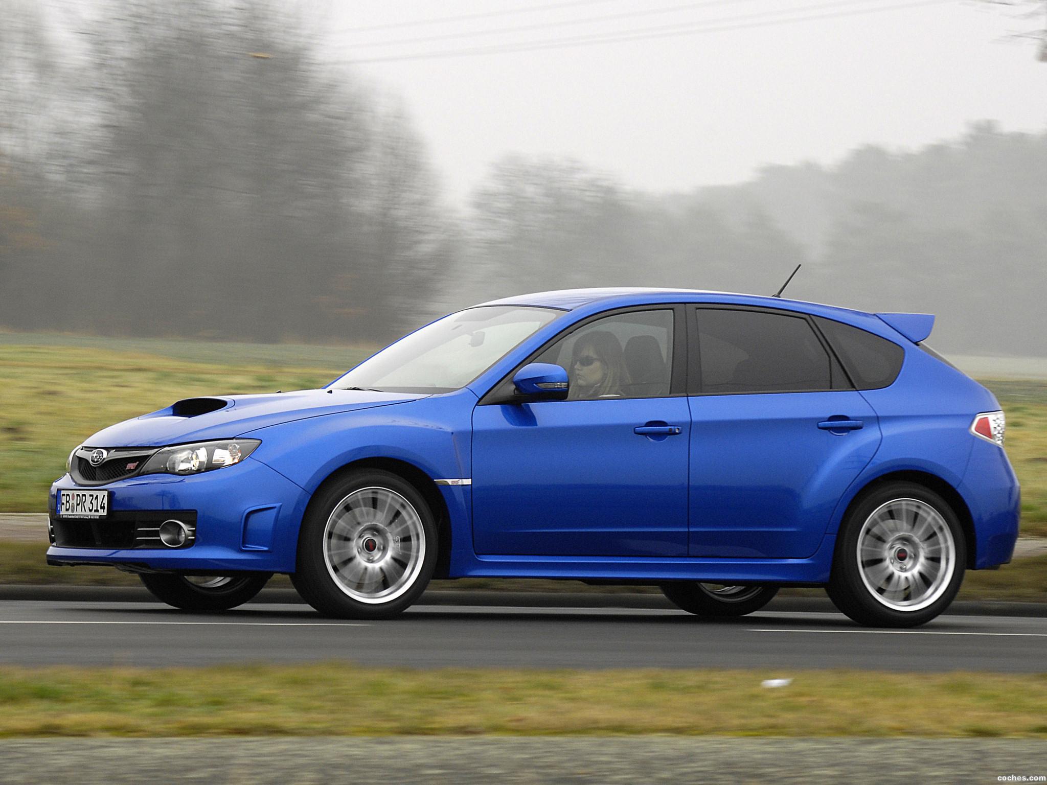 Foto 1 de Subaru Impreza WRX STi 2008