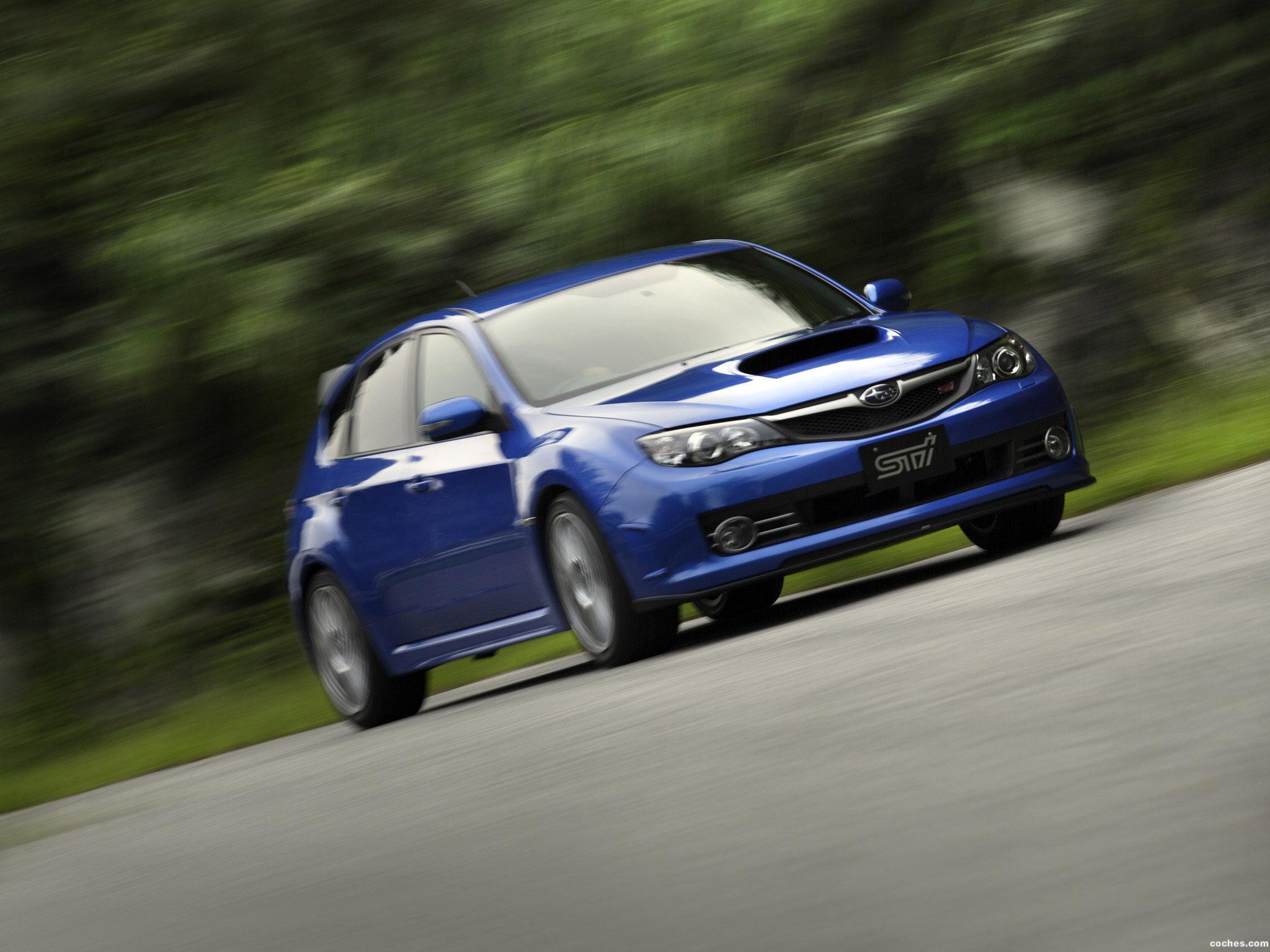Foto 1 de Subaru Impreza WRX STi 20th Anniversary 2008