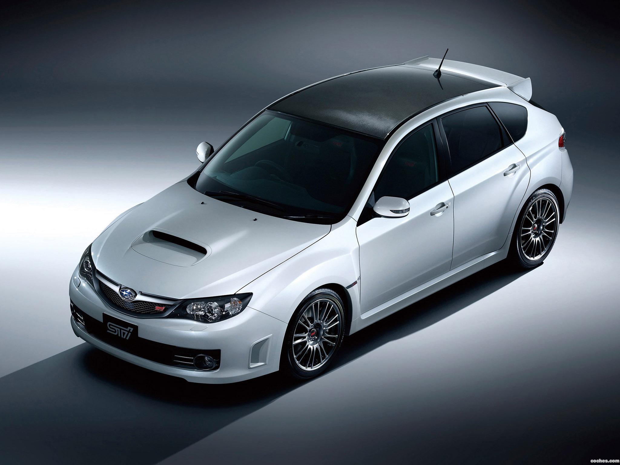 Foto 0 de Subaru Impreza WRX STi Carbon 2009