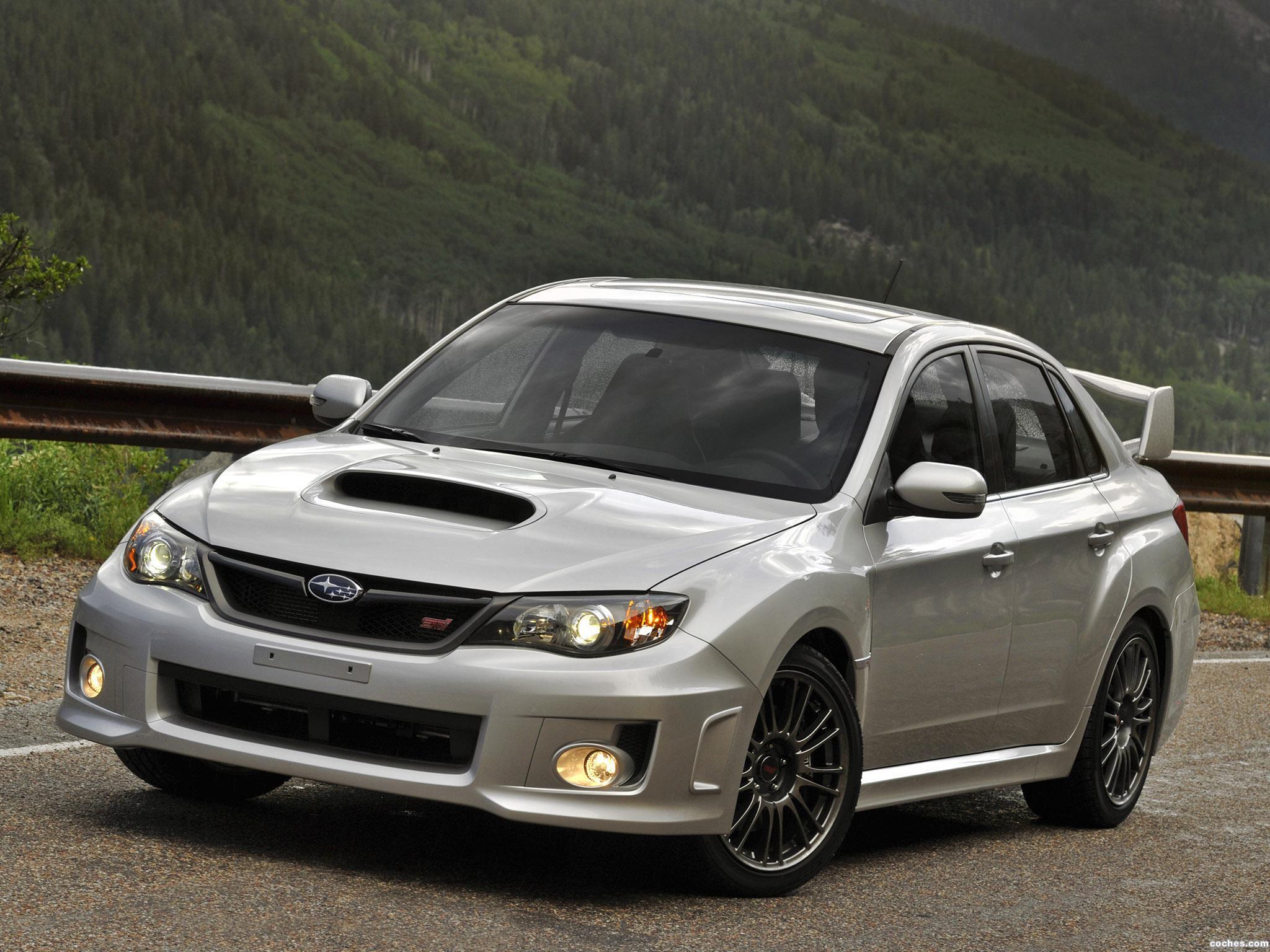 Foto 13 de Subaru Impreza WRX STi Sedan USA 2010