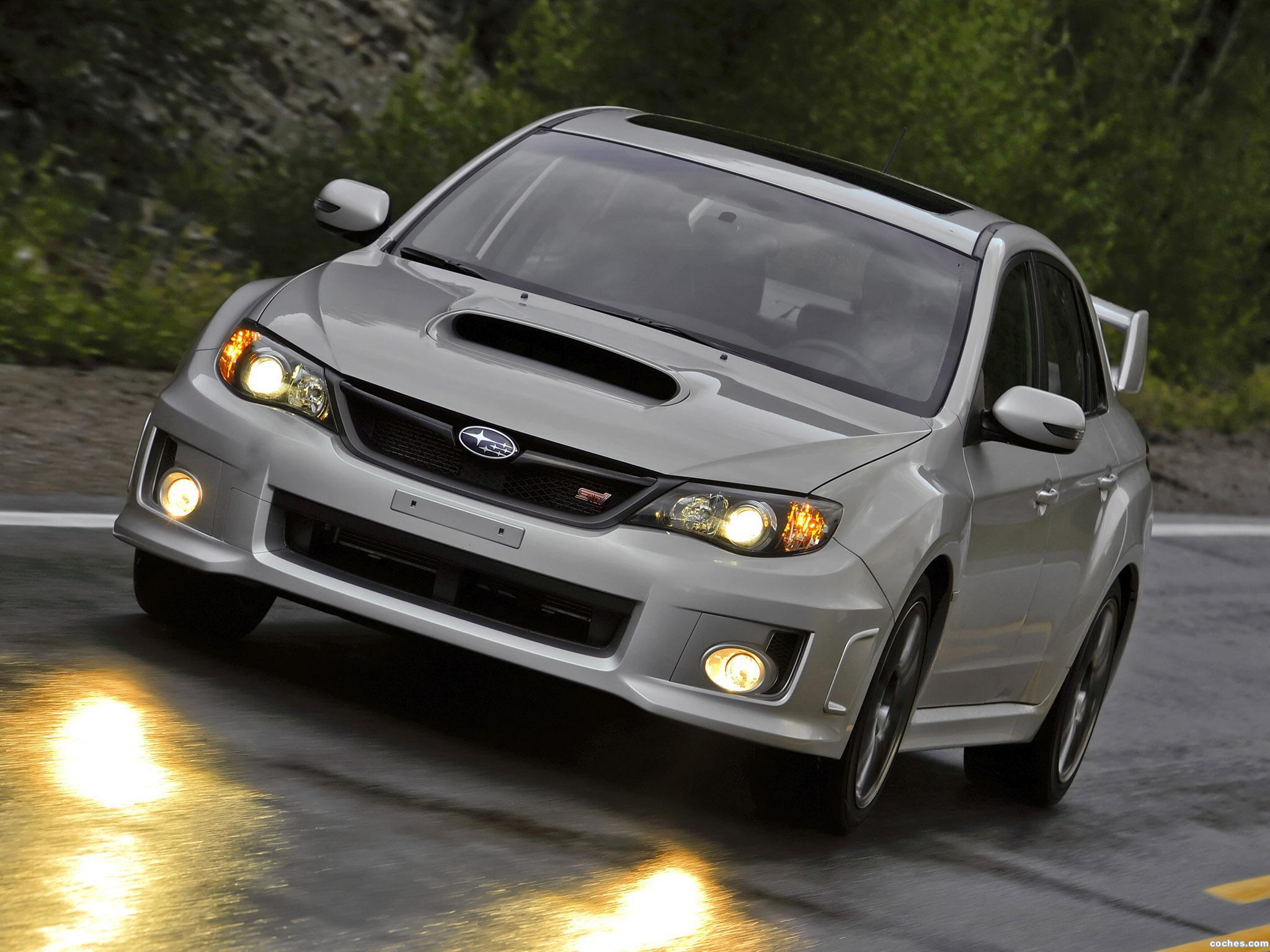 Foto 11 de Subaru Impreza WRX STi Sedan USA 2010