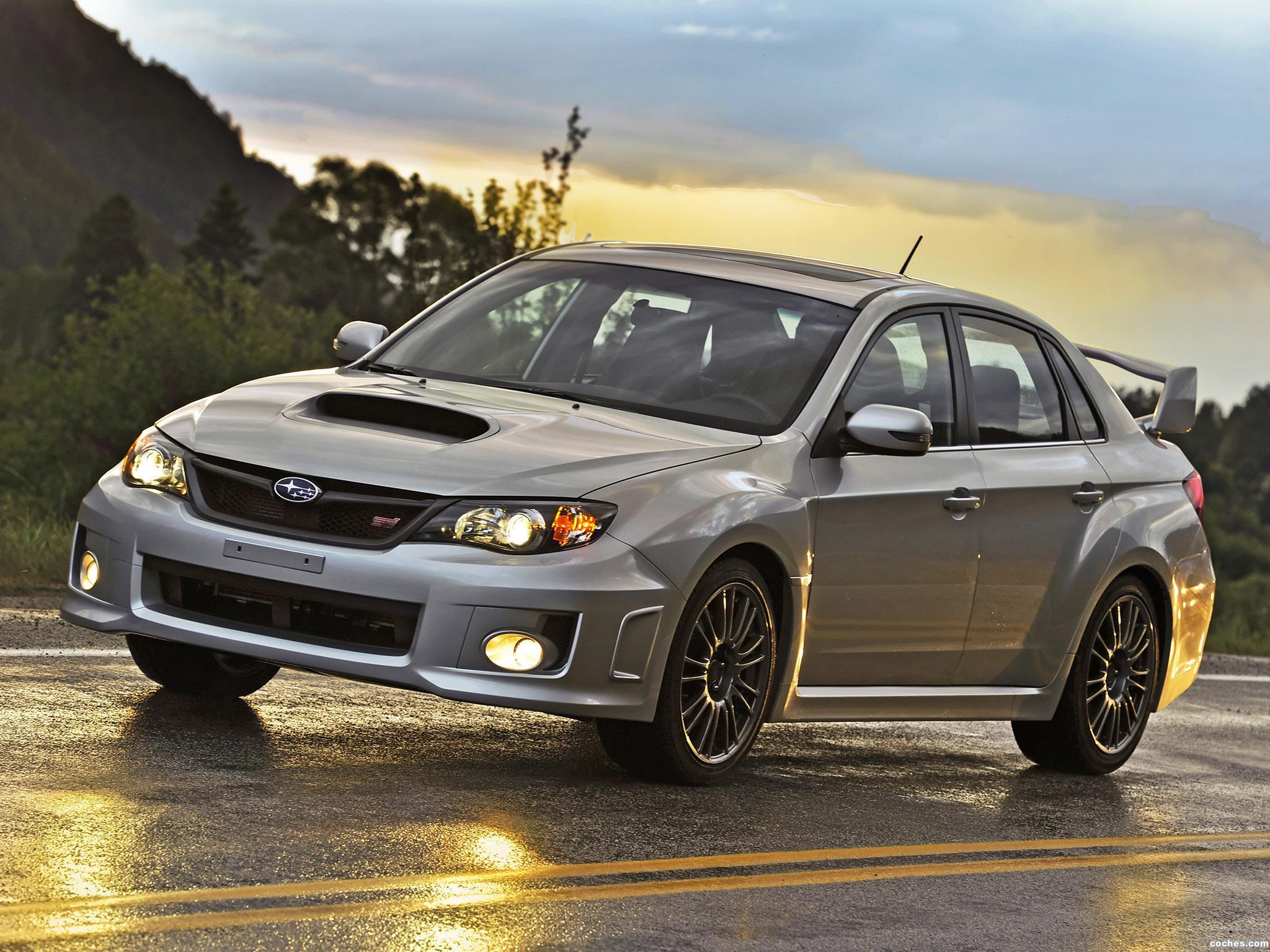 Foto 9 de Subaru Impreza WRX STi Sedan USA 2010
