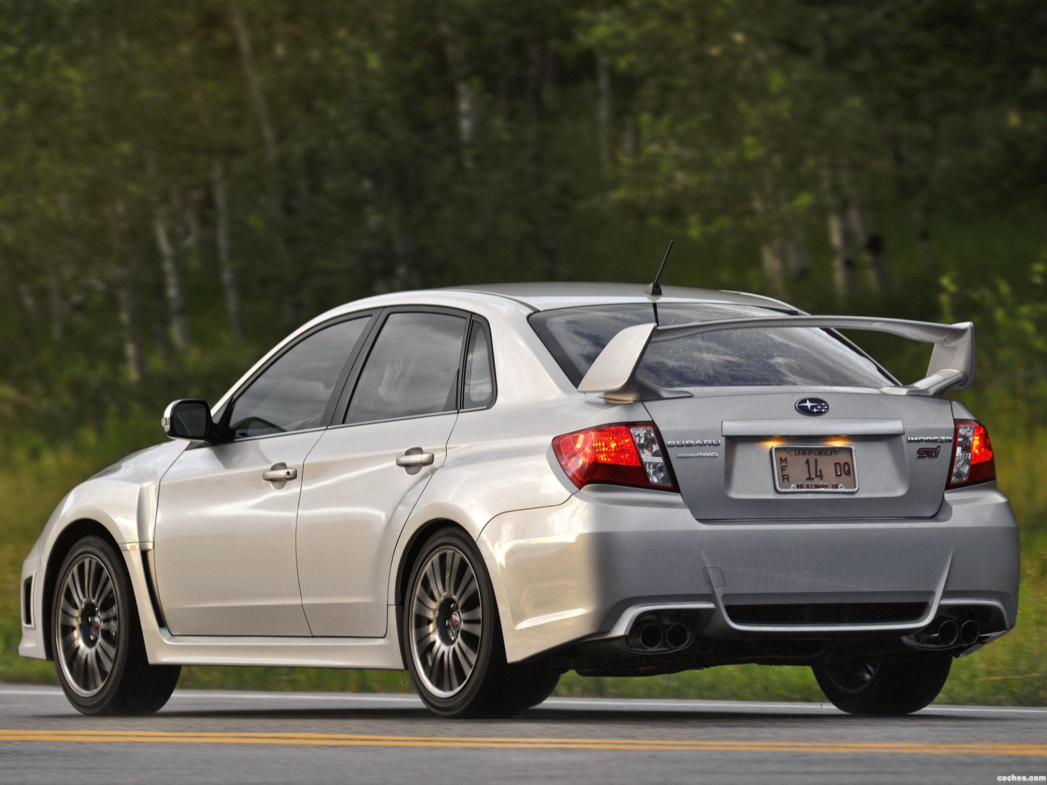 Foto 8 de Subaru Impreza WRX STi Sedan USA 2010