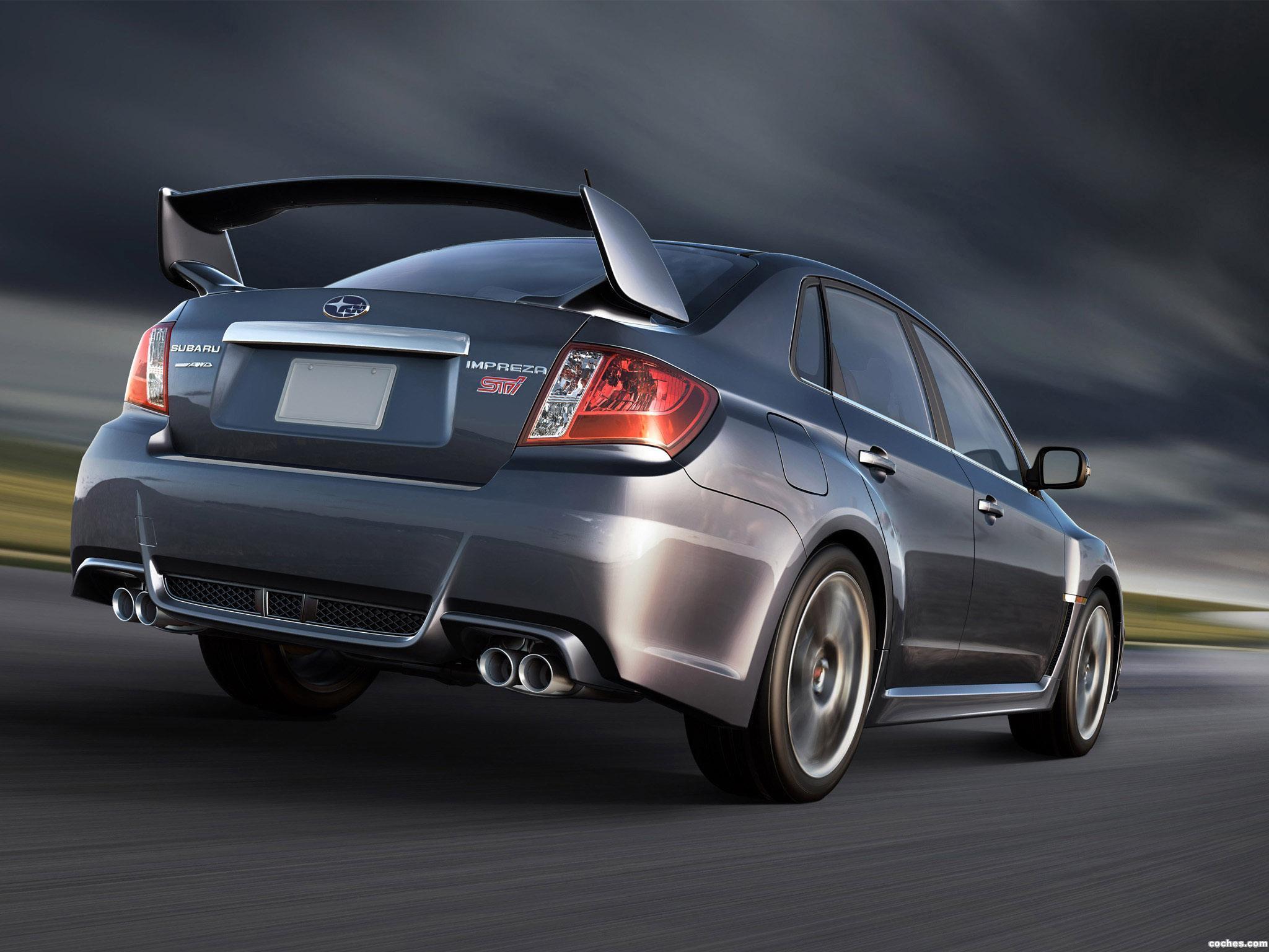 Foto 4 de Subaru Impreza WRX STi Sedan USA 2010