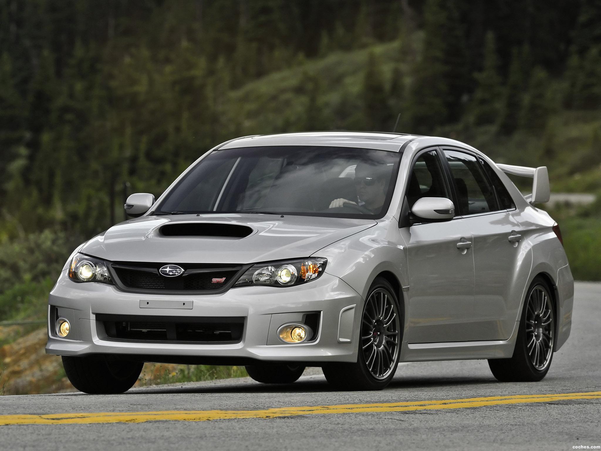 Foto 21 de Subaru Impreza WRX STi Sedan USA 2010