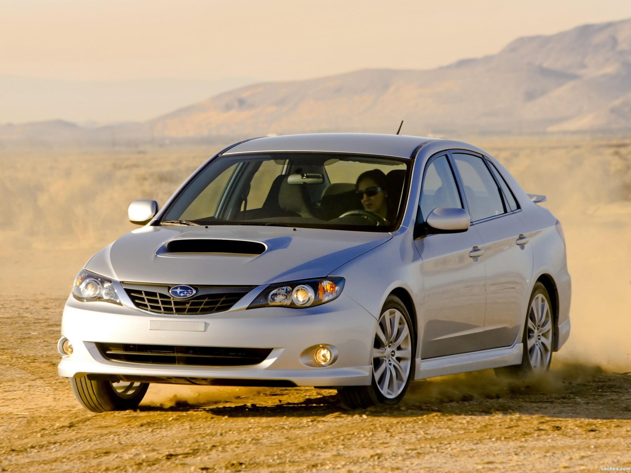 Foto 0 de Subaru Impreza WRX Sedan 2008