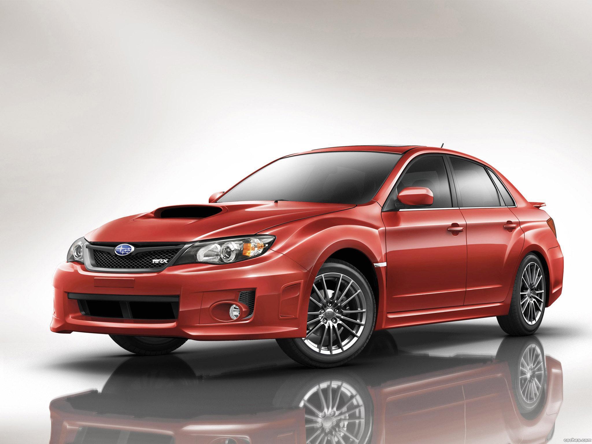 Foto 3 de Subaru Impreza WRX Sedan USA 2010