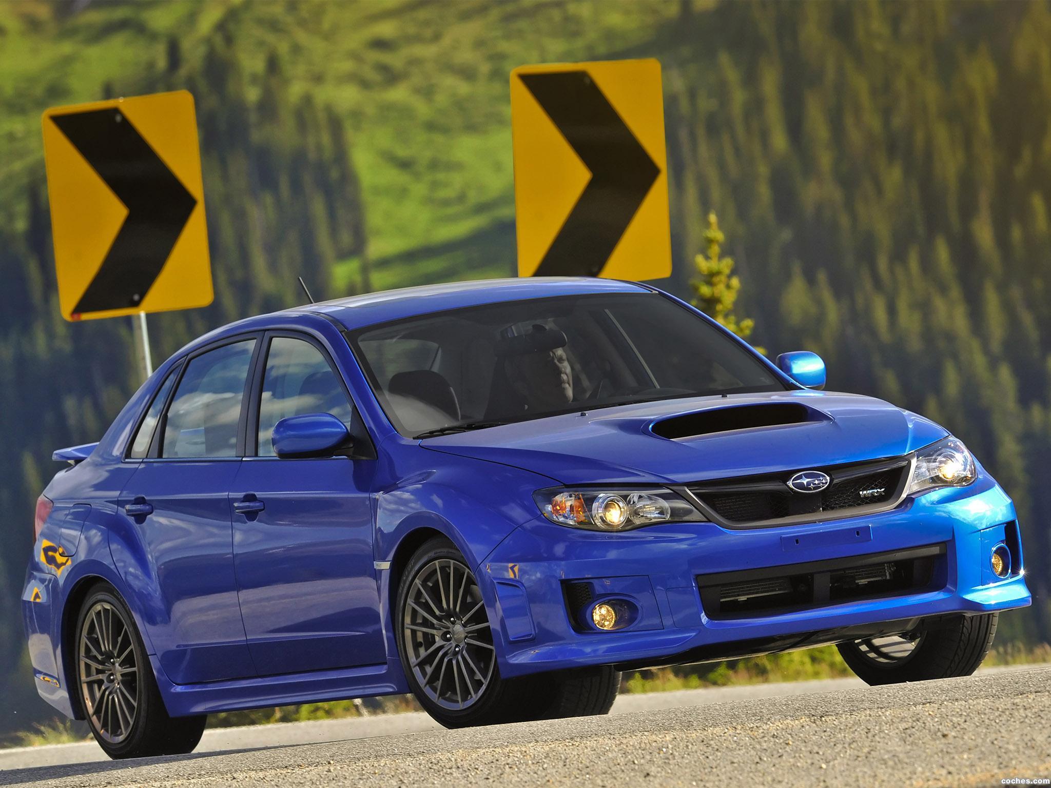 Foto 7 de Subaru Impreza WRX Sedan USA 2010