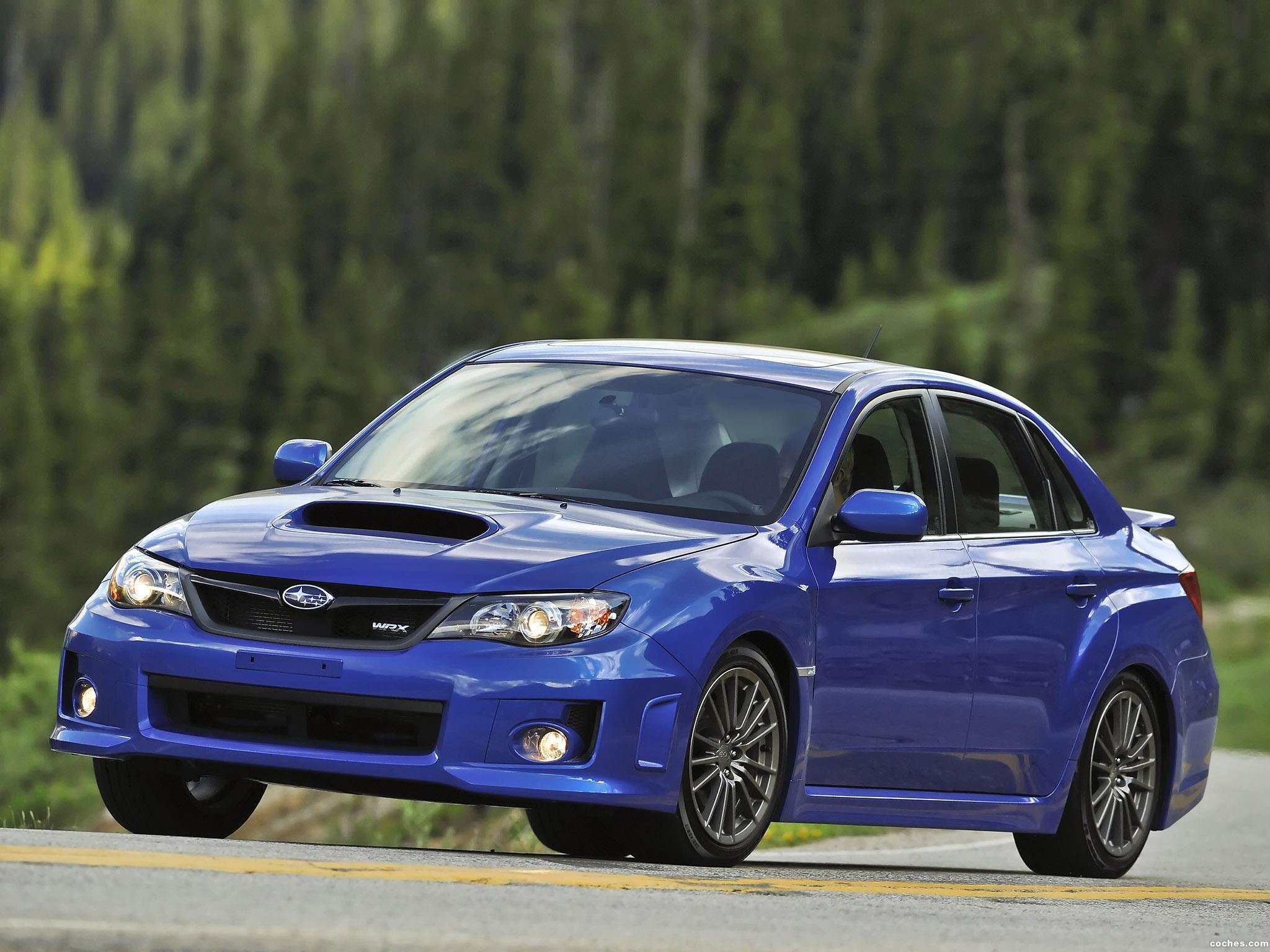 Foto 6 de Subaru Impreza WRX Sedan USA 2010