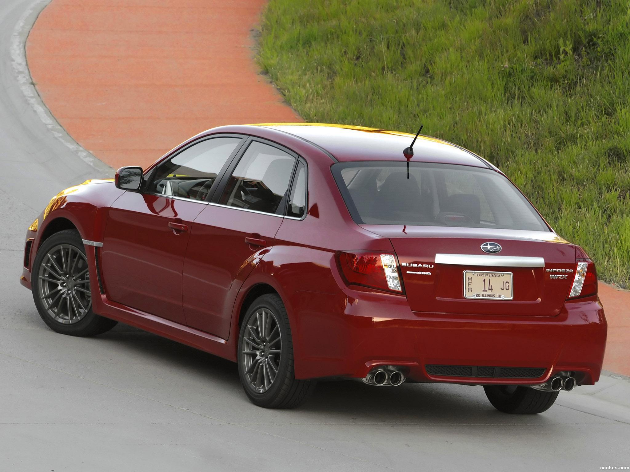 Foto 5 de Subaru Impreza WRX Sedan USA 2010