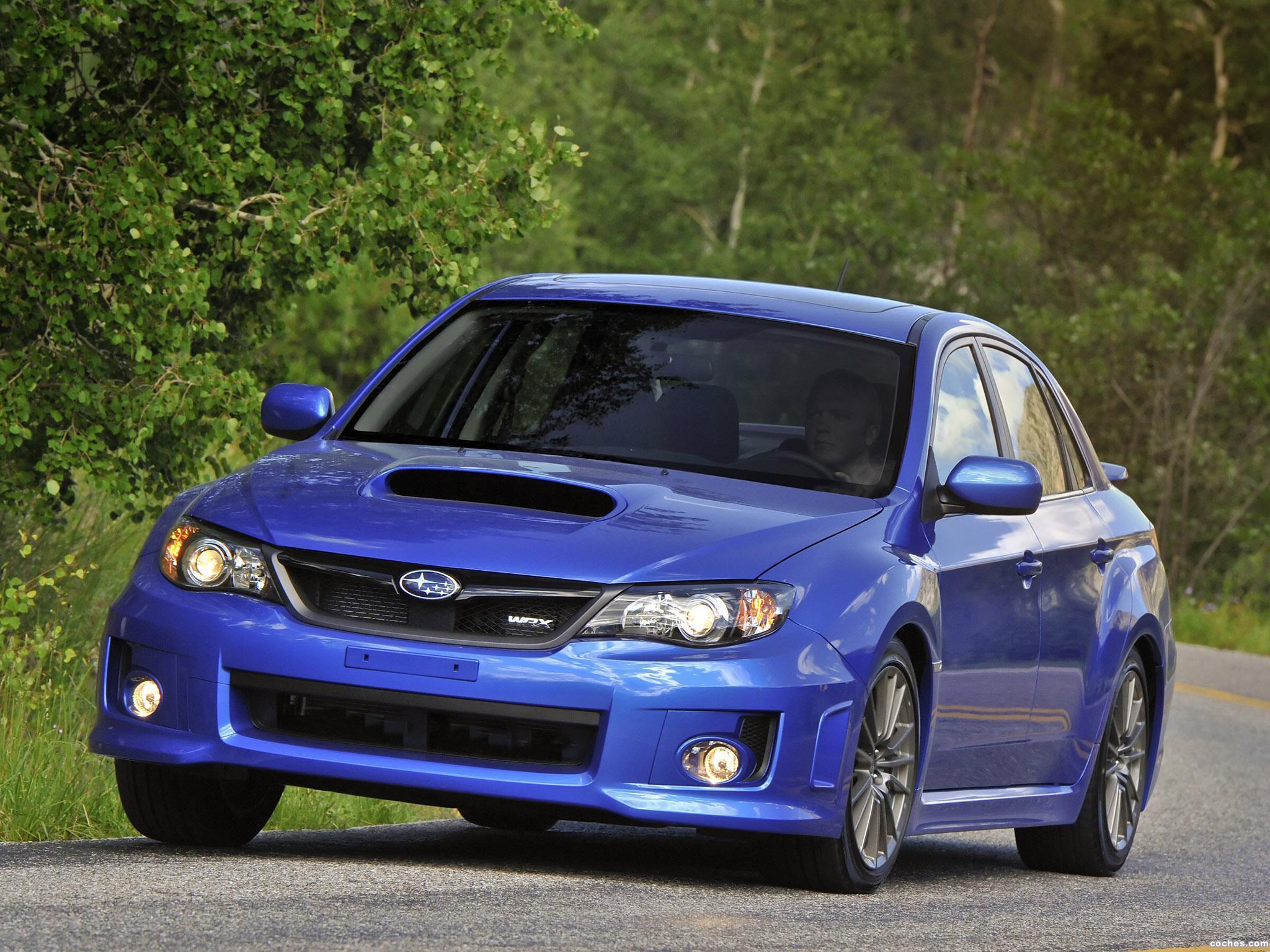 Foto 2 de Subaru Impreza WRX Sedan USA 2010