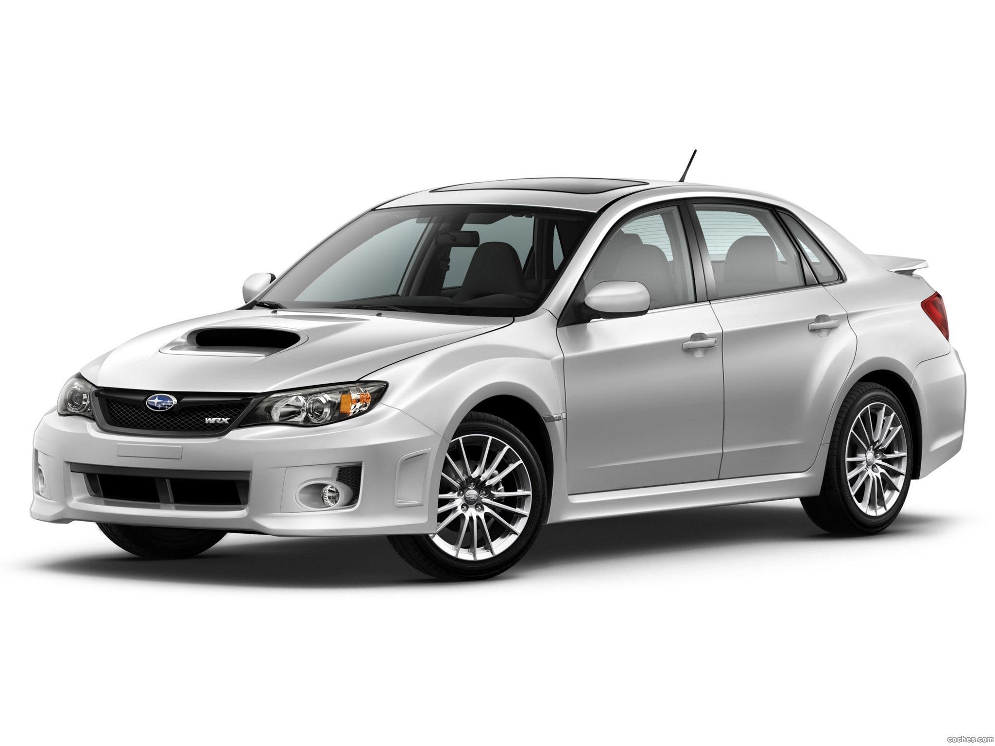 Foto 0 de Subaru Impreza WRX Sedan USA 2010