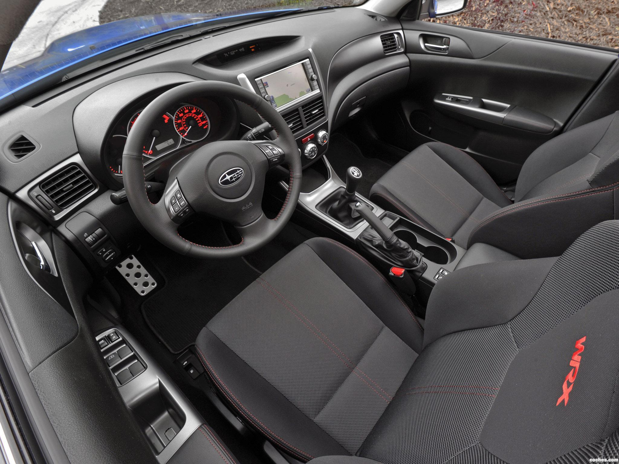 Foto 12 de Subaru Impreza WRX Sedan USA 2010