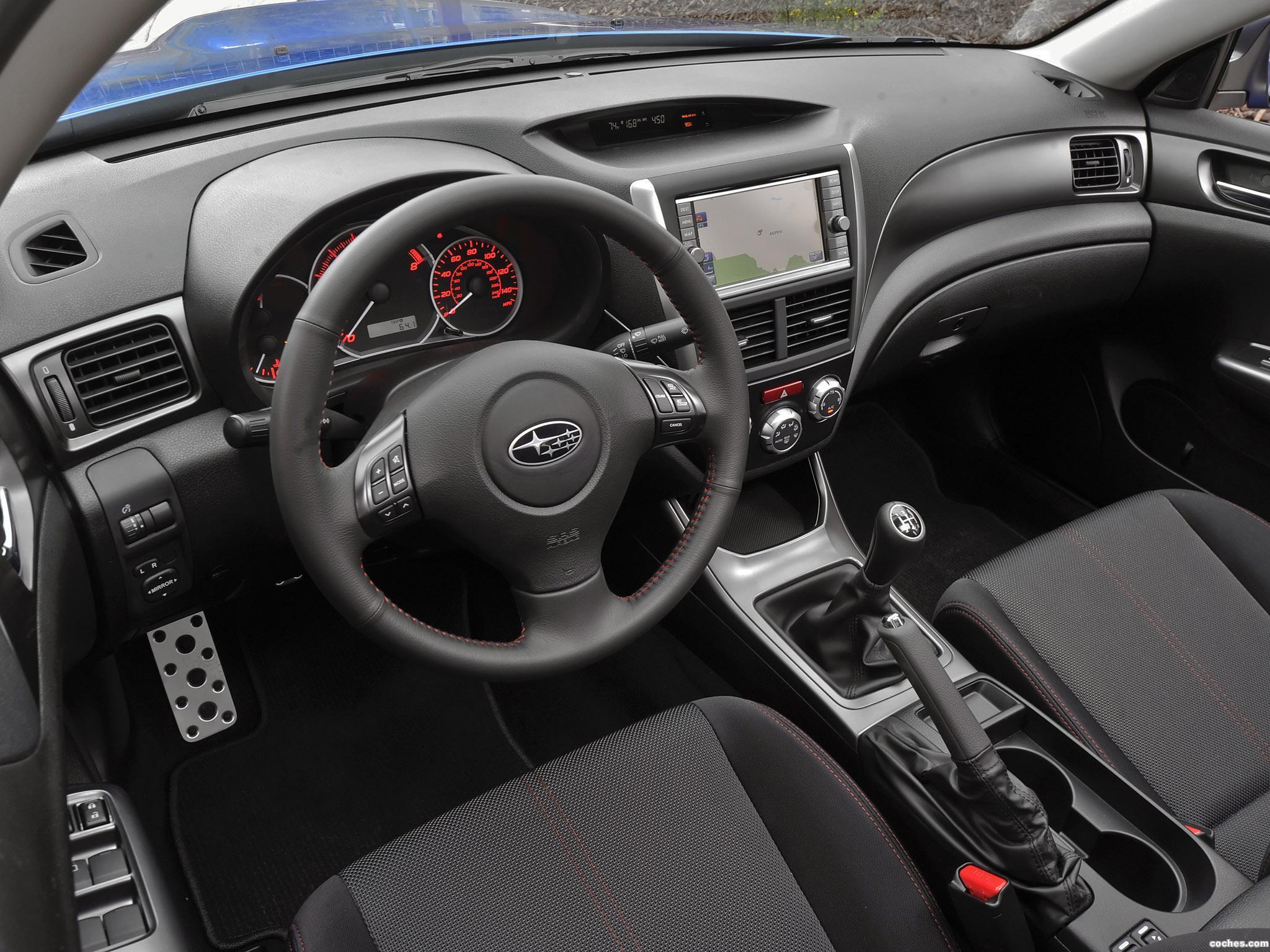 Foto 11 de Subaru Impreza WRX Sedan USA 2010