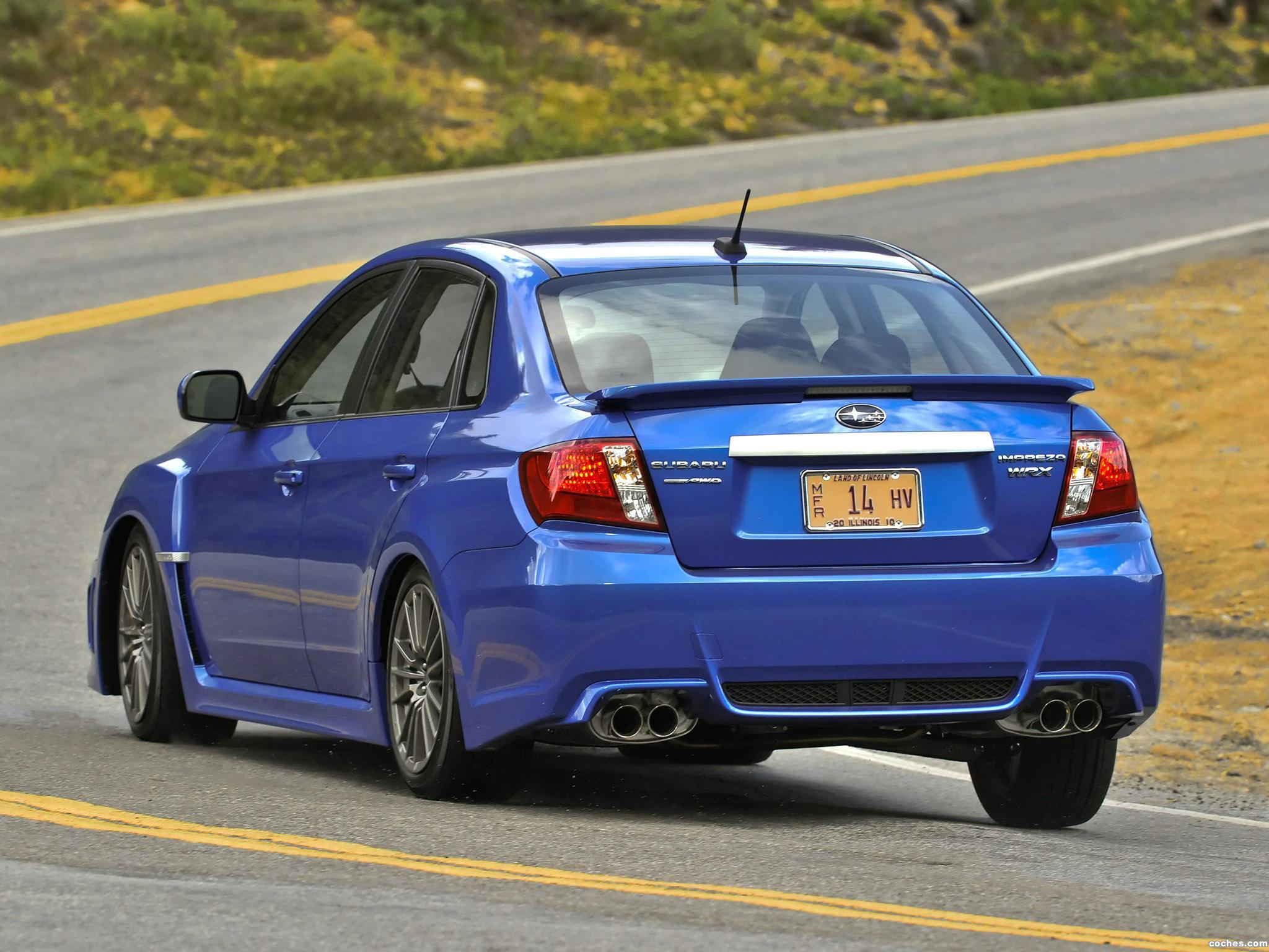 Foto 9 de Subaru Impreza WRX Sedan USA 2010