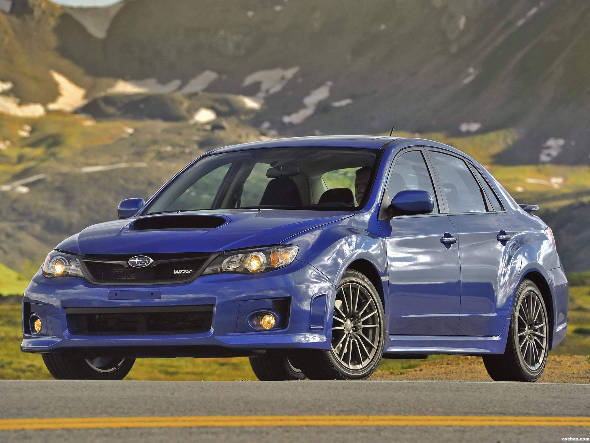 Foto 8 de Subaru Impreza WRX Sedan USA 2010