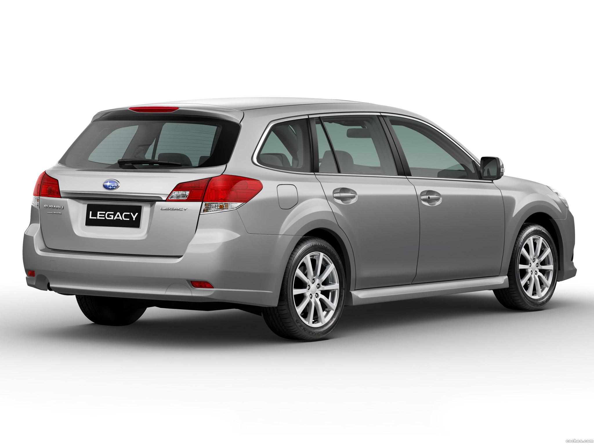Foto 1 de Subaru Legacy SW Europe 2009