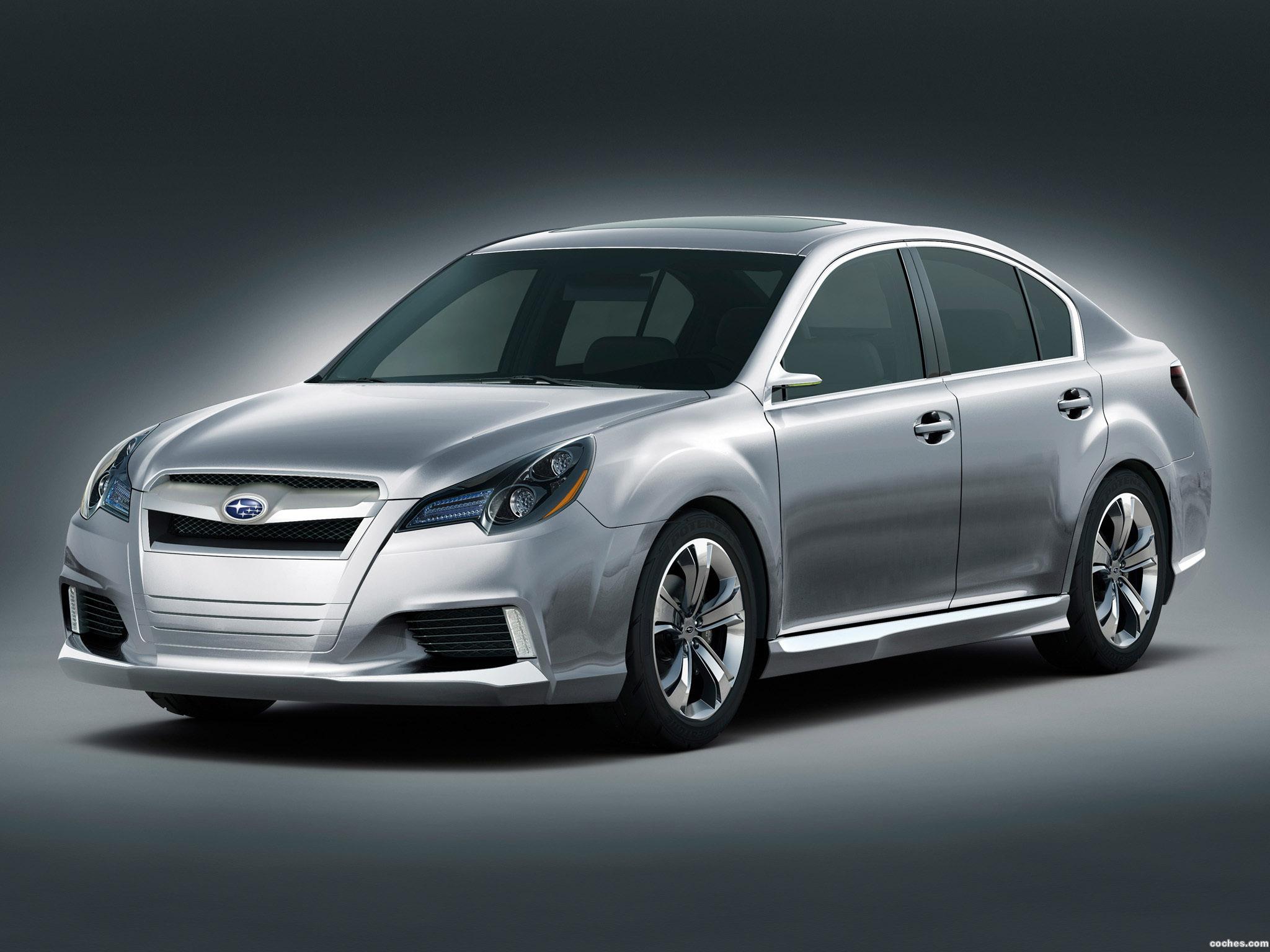 Foto 0 de Subaru Legacy Concept 2009