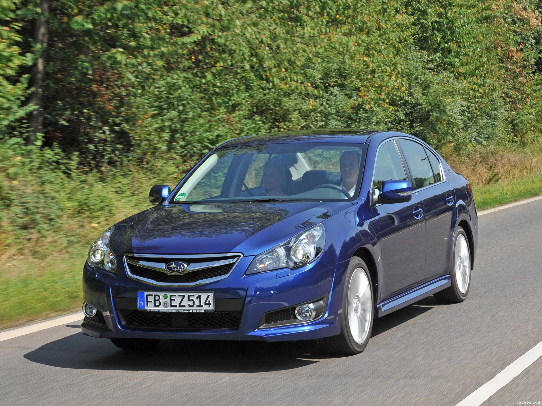 Foto 2 de Subaru Legacy Europe 2009