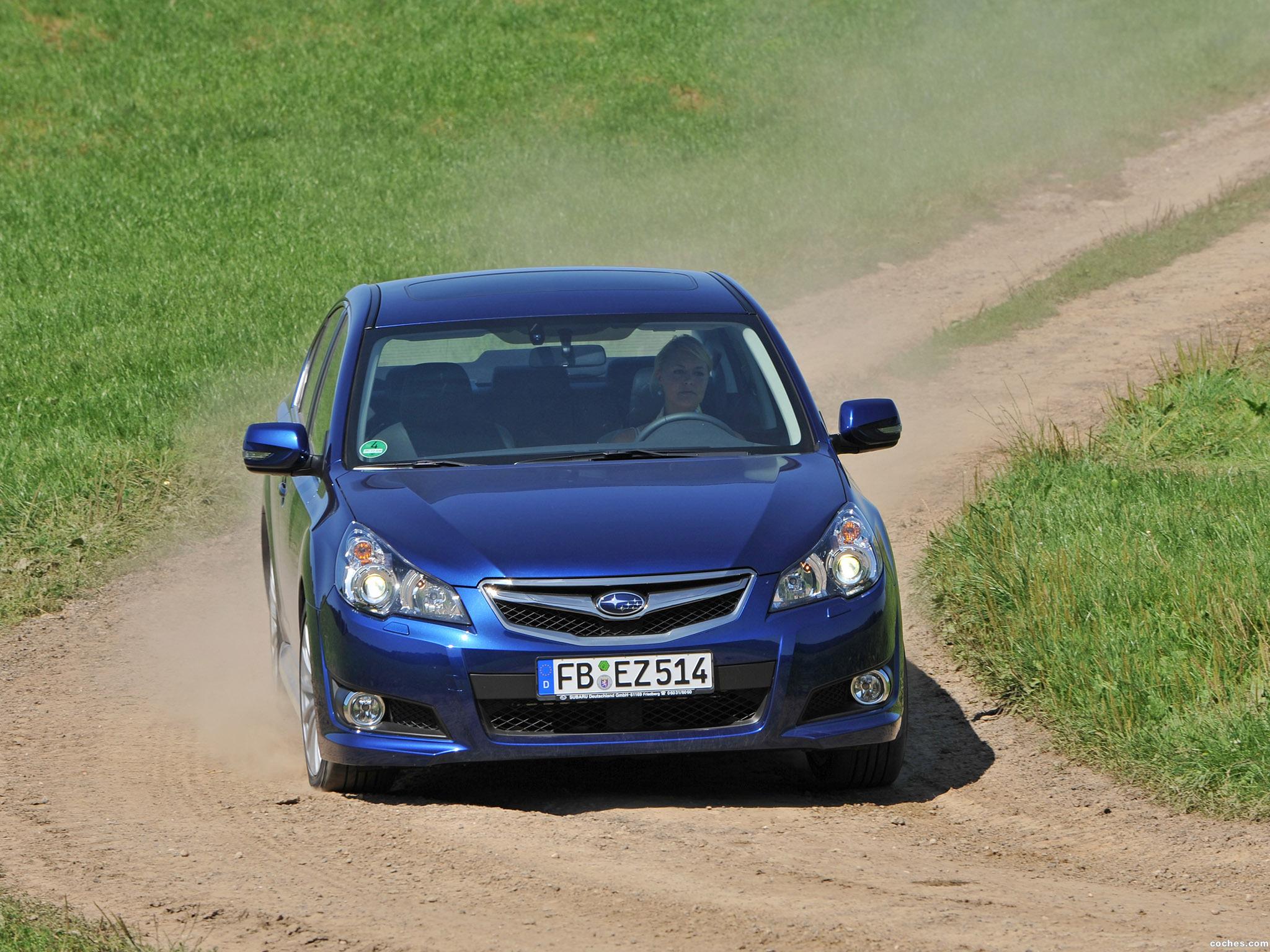 Foto 8 de Subaru Legacy Europe 2009