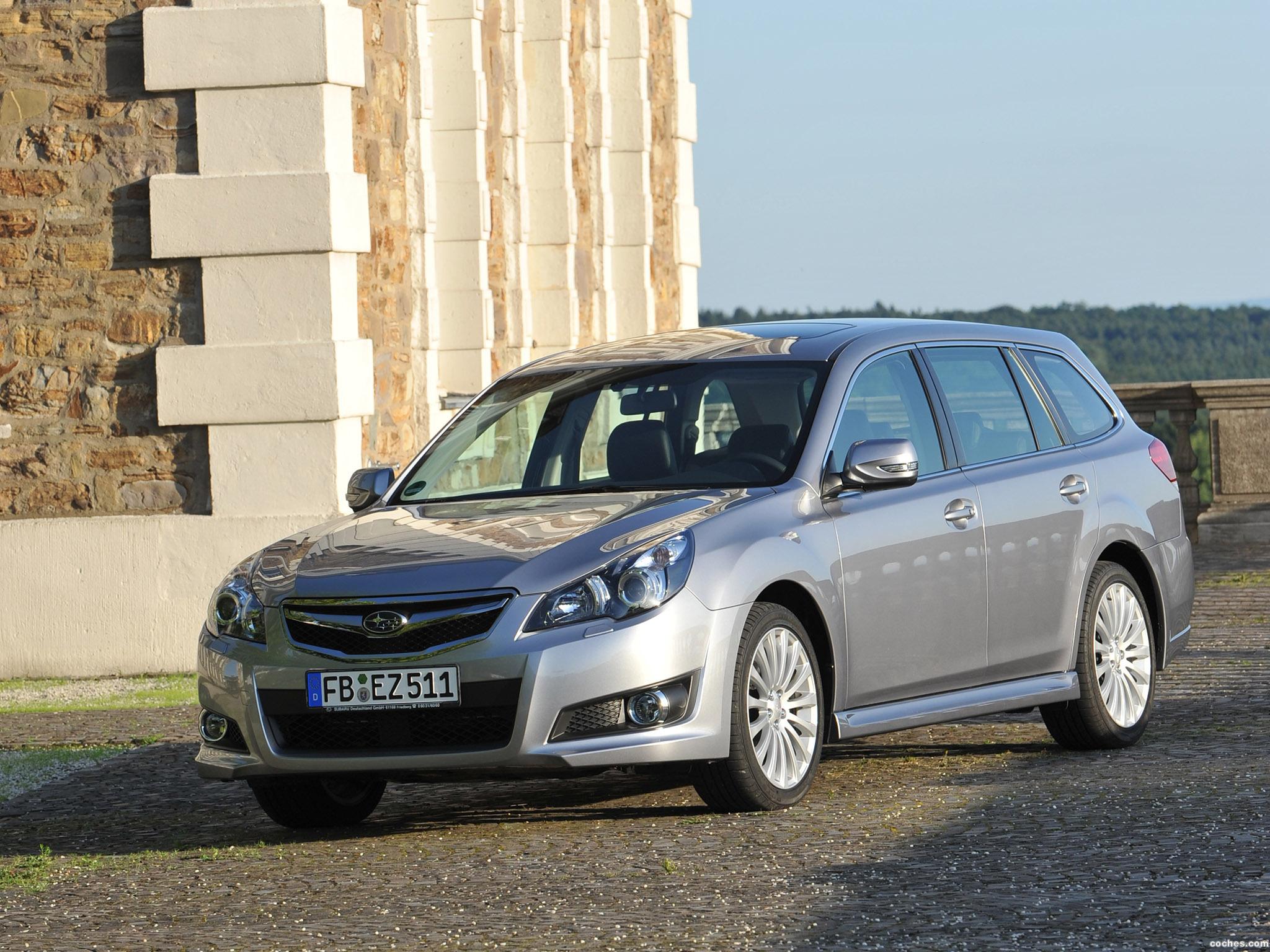 Foto 0 de Subaru Legacy Wagon Europe 2009