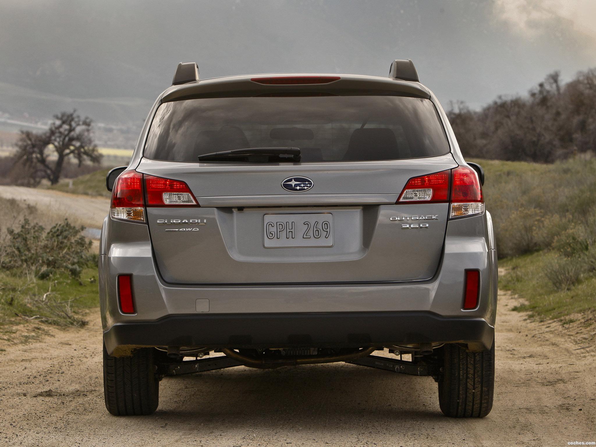 Foto 9 de Subaru Outback 3.6R 2009
