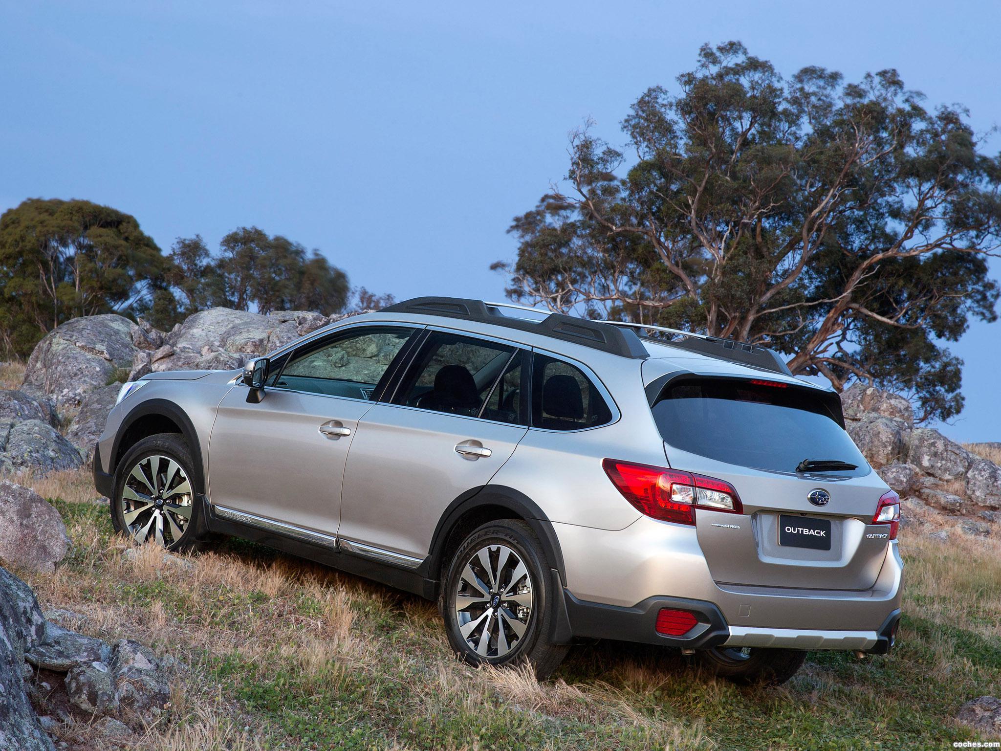 Foto 3 de Subaru Outback 3.6R Australia 2014