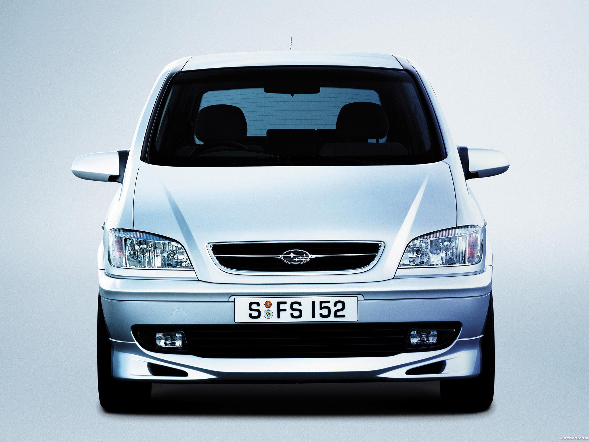Foto 9 de Subaru Traviq S Package 2001