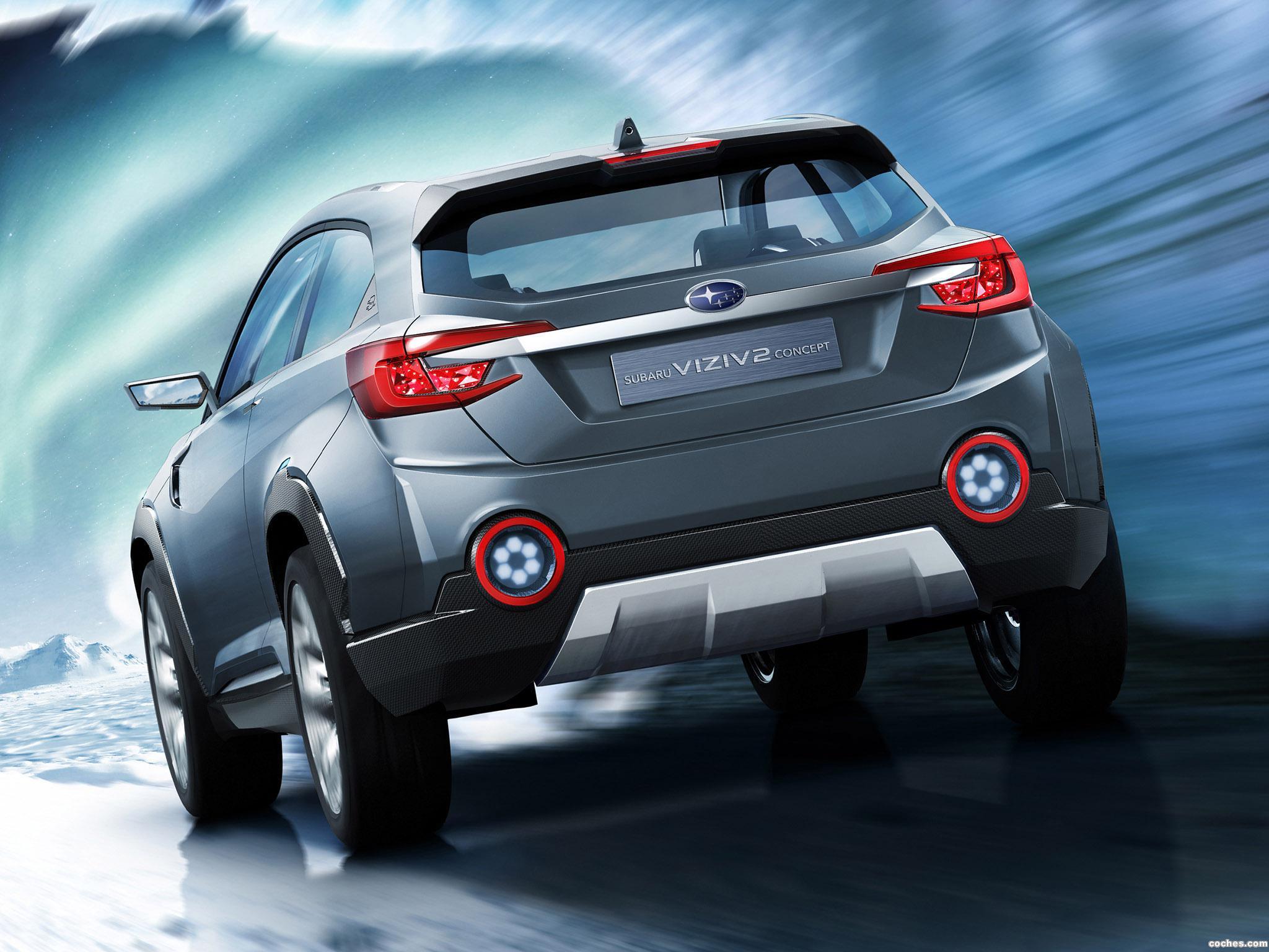 Foto 3 de Subaru Viziv 2 Concept 2014