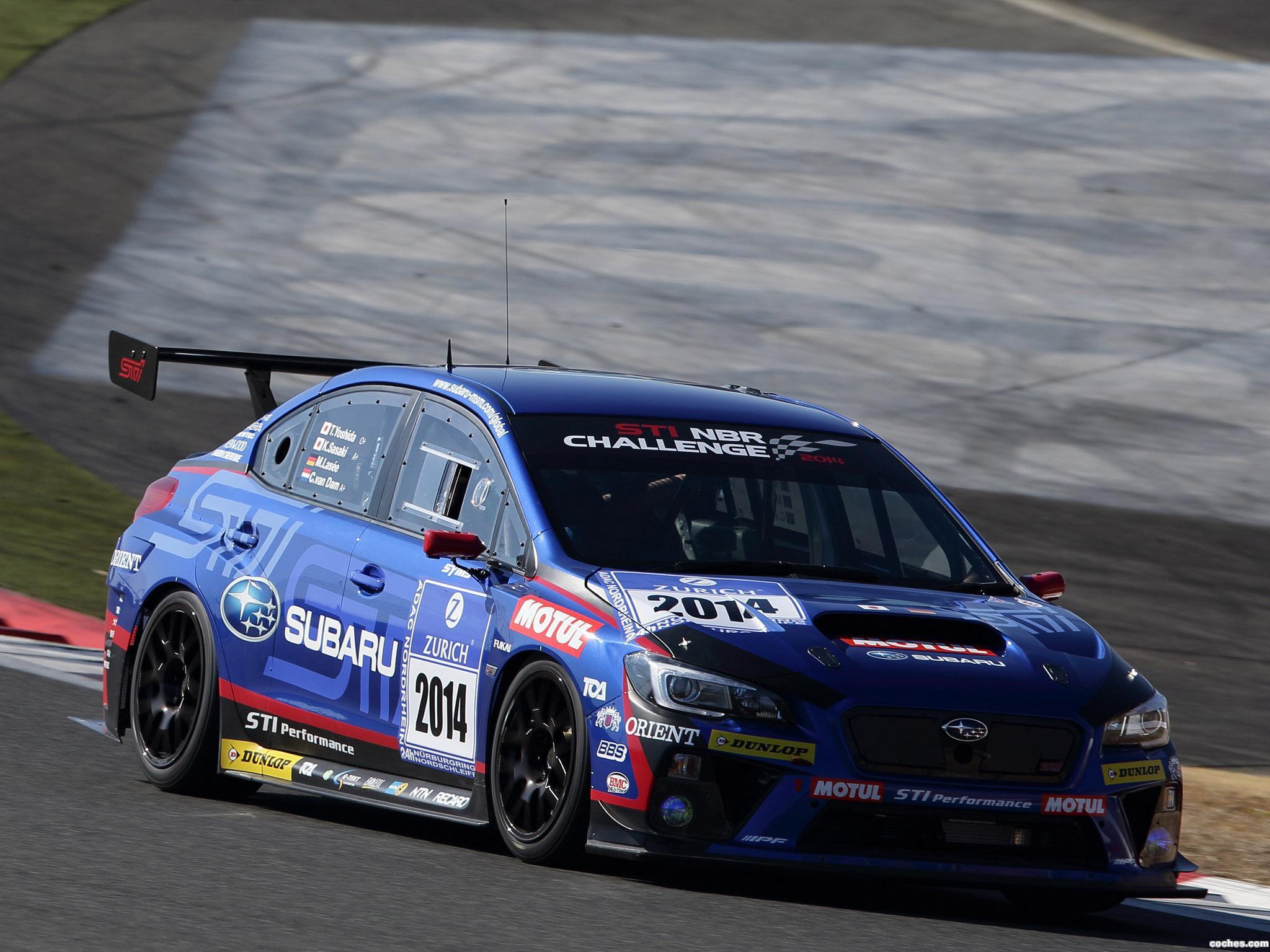 Foto 9 de Subaru WRX STI Race Car 2014