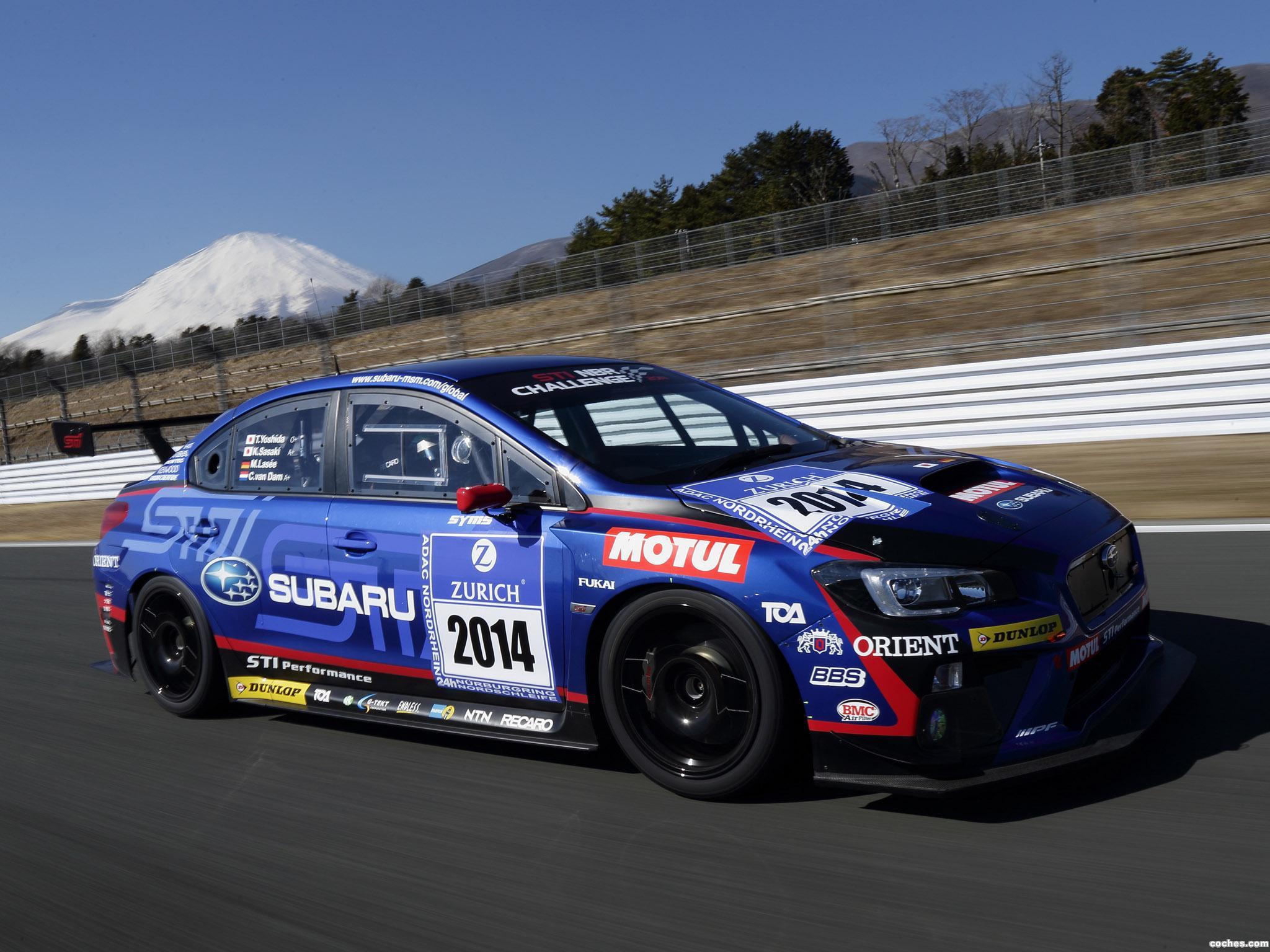 Foto 3 de Subaru WRX STI Race Car 2014