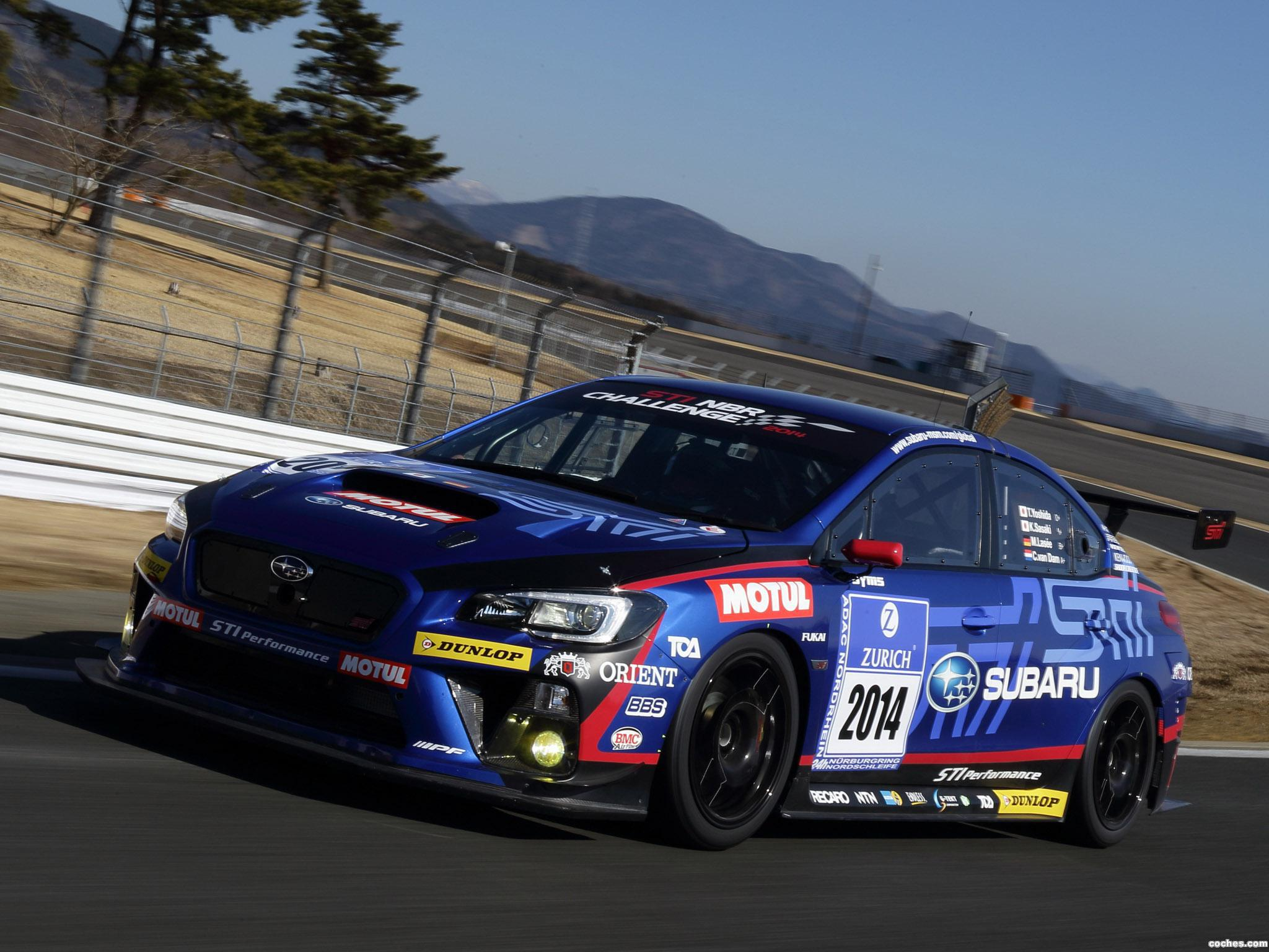 Foto 2 de Subaru WRX STI Race Car 2014