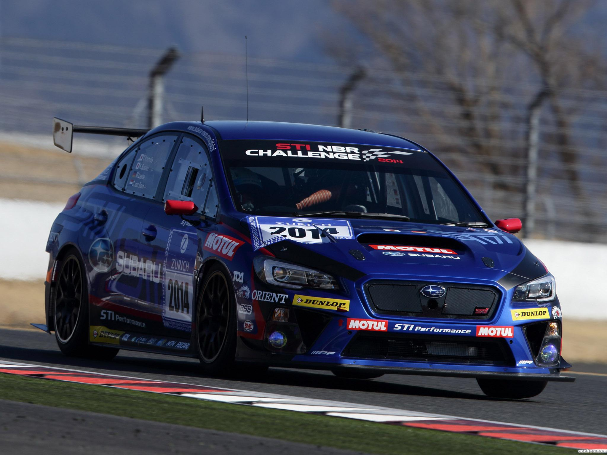 Foto 1 de Subaru WRX STI Race Car 2014