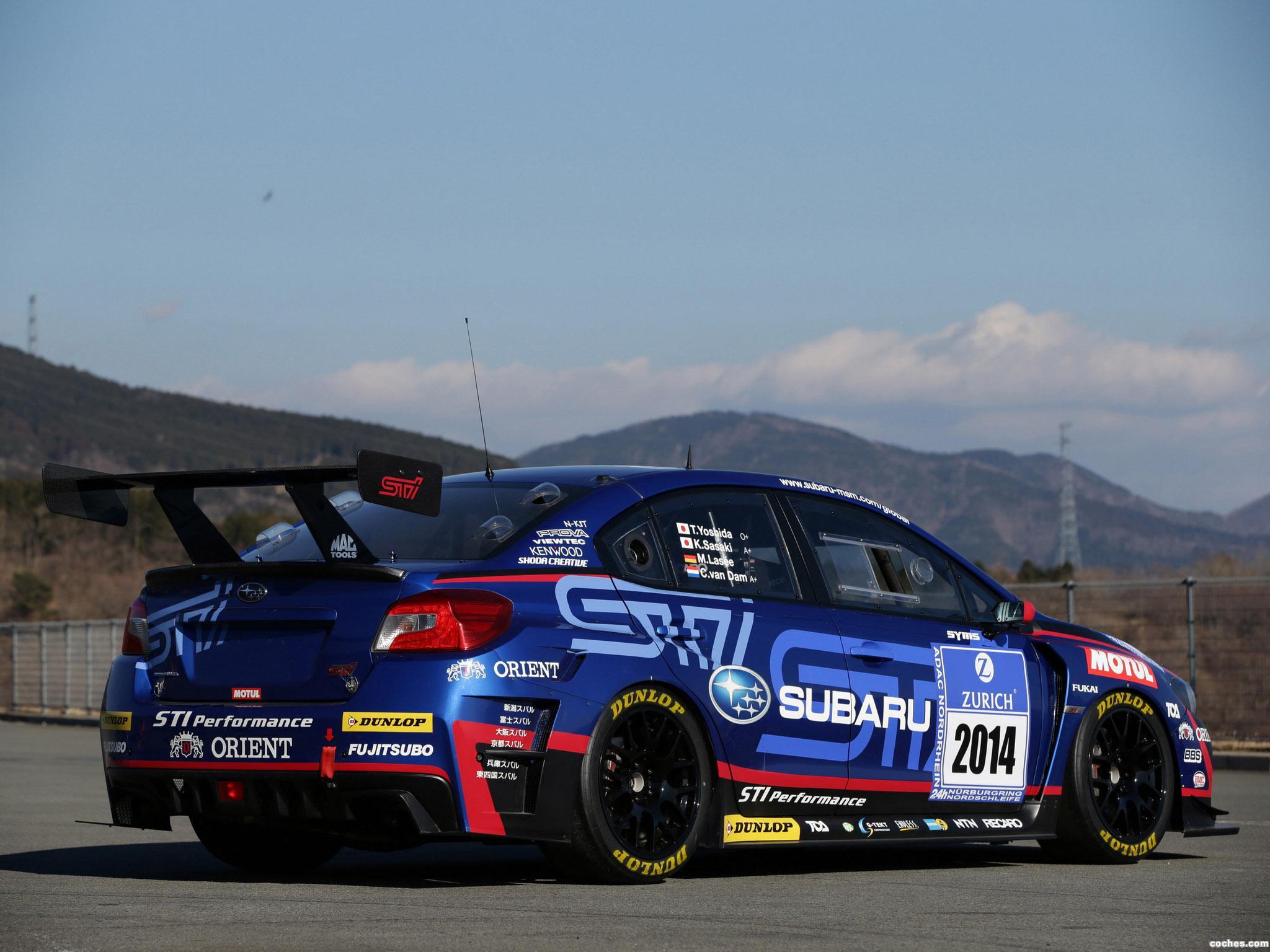 Foto 16 de Subaru WRX STI Race Car 2014