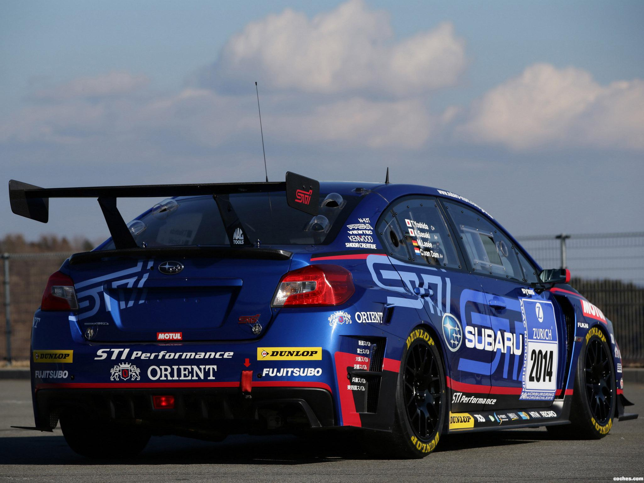 Foto 15 de Subaru WRX STI Race Car 2014