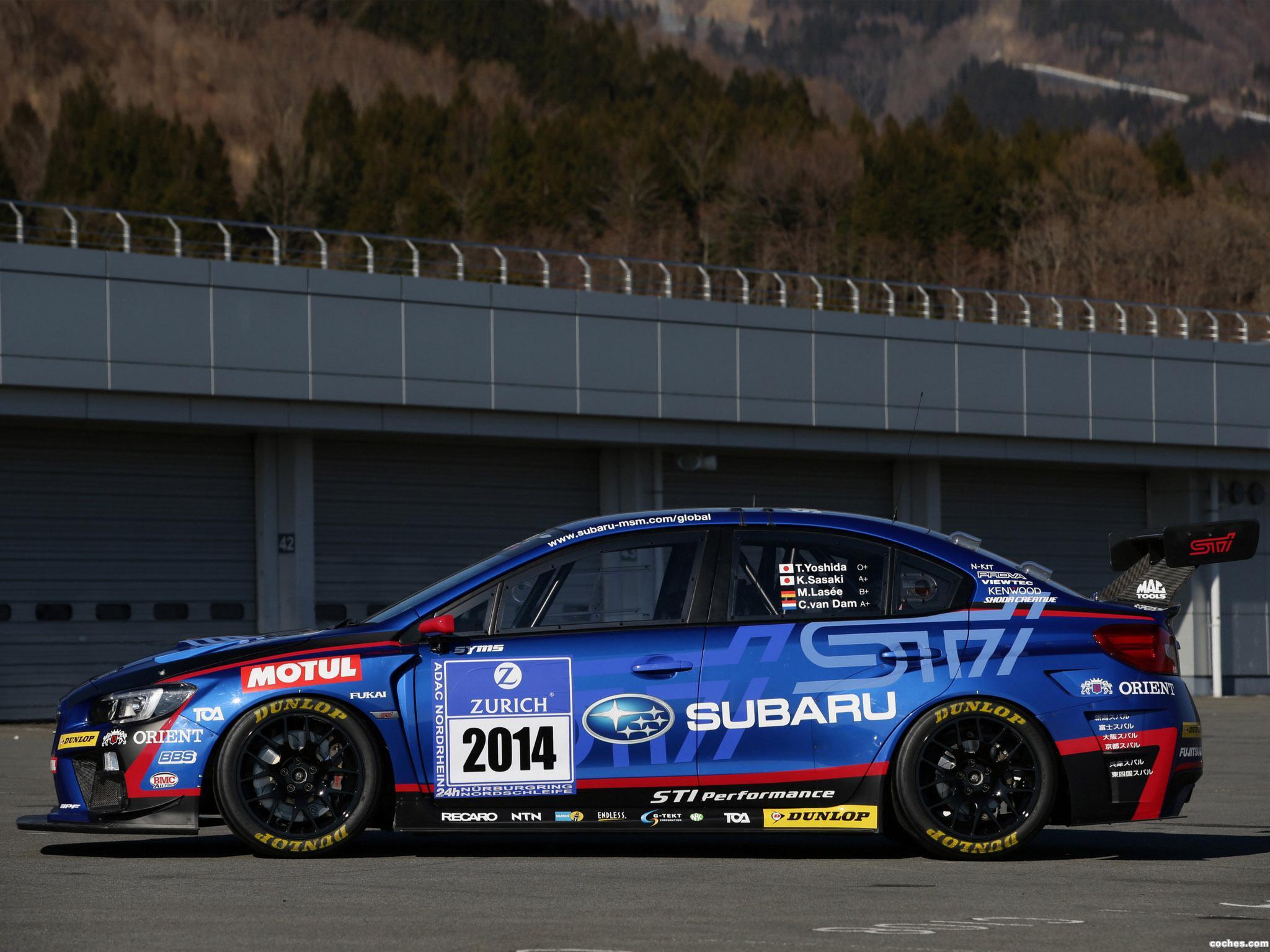 Foto 13 de Subaru WRX STI Race Car 2014