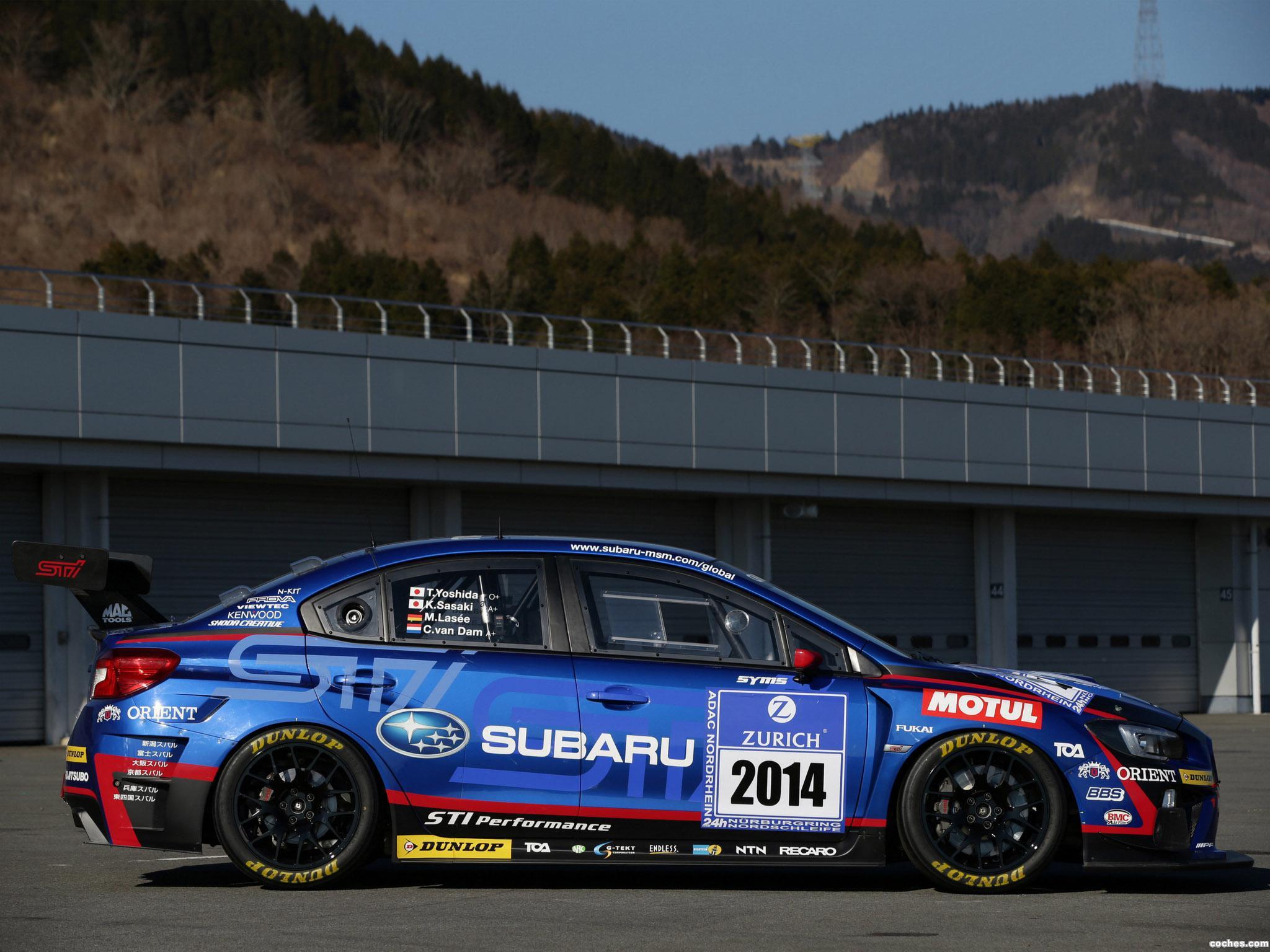 Foto 12 de Subaru WRX STI Race Car 2014
