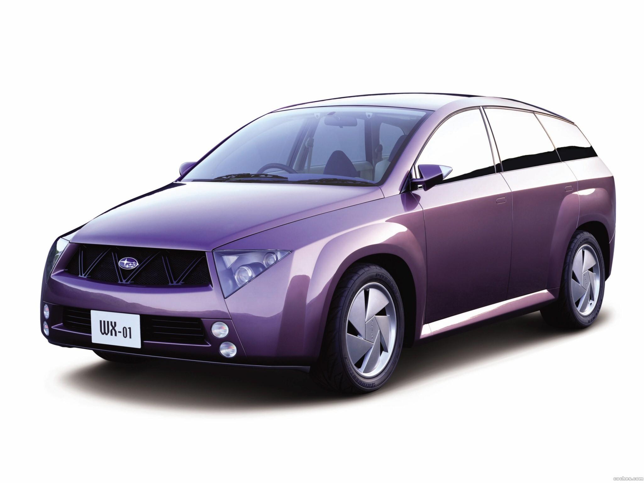 Foto 0 de Subaru WX-01 Concept 2001