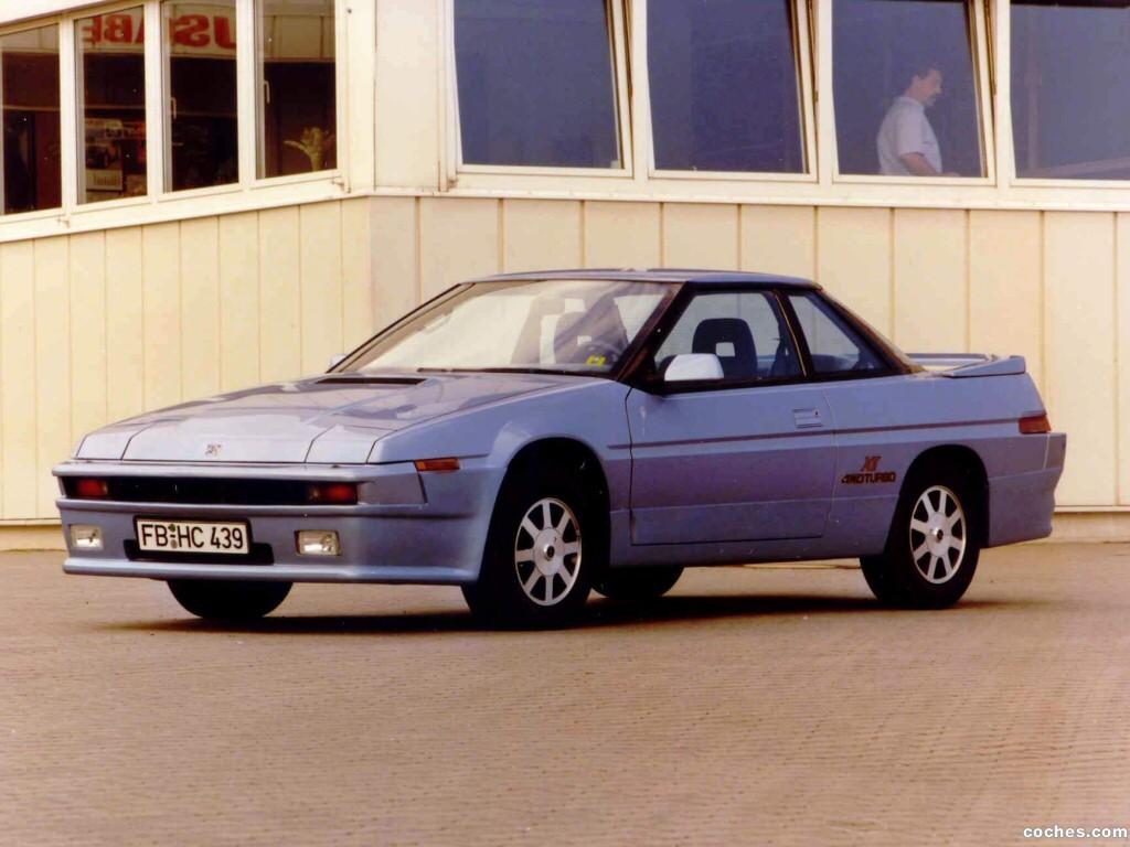 Foto 0 de Subaru XT 1985
