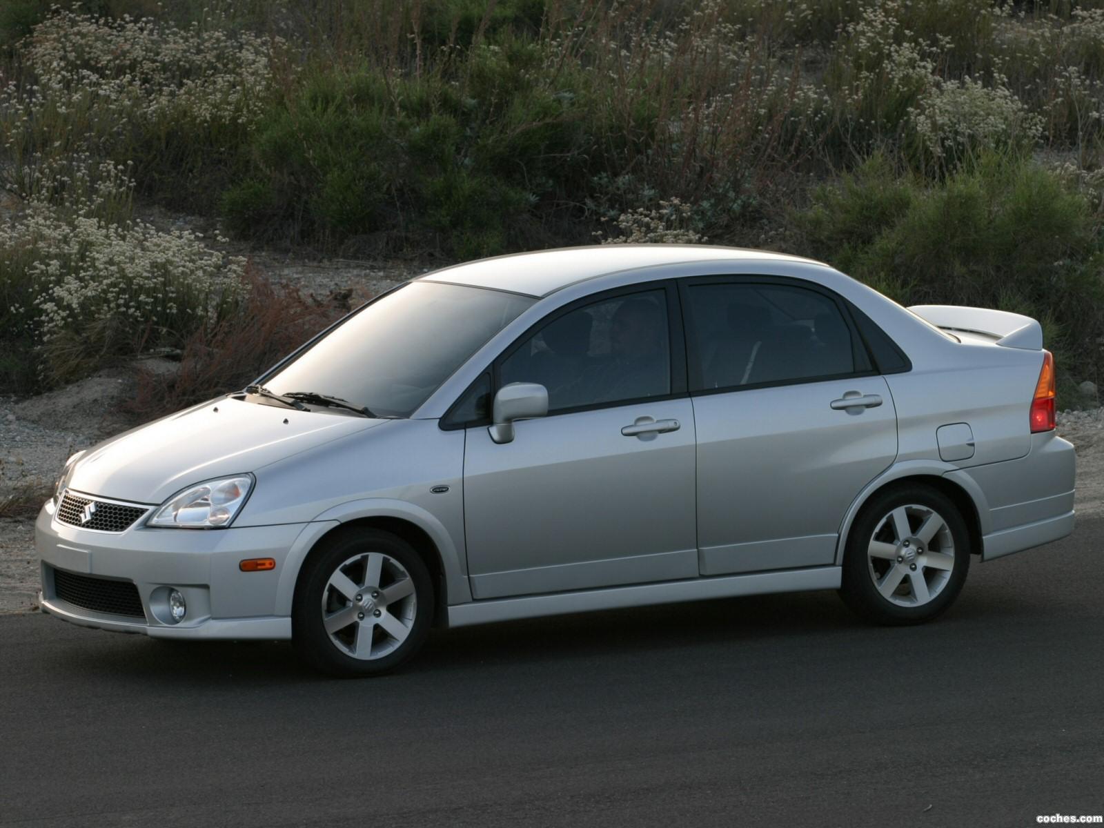 Foto 2 de Suzuki Aerio SX Sedan USA 2001