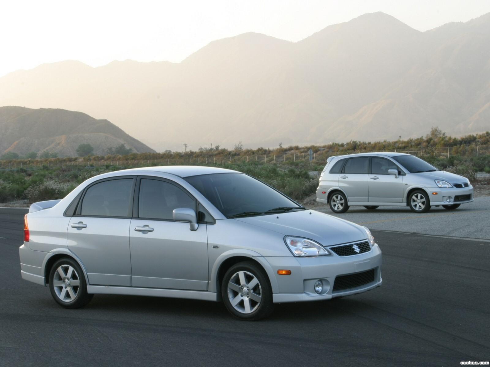 Foto 0 de Suzuki Aerio SX Sedan USA 2001