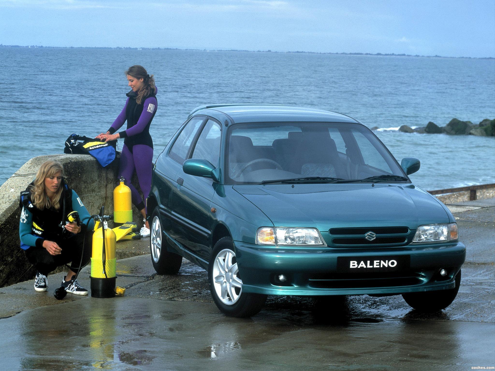 Foto 0 de Suzuki Baleno Hatchback UK 1995