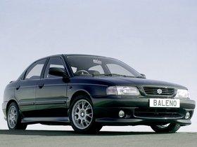 Fotos de Suzuki Baleno Sedan UK 1995